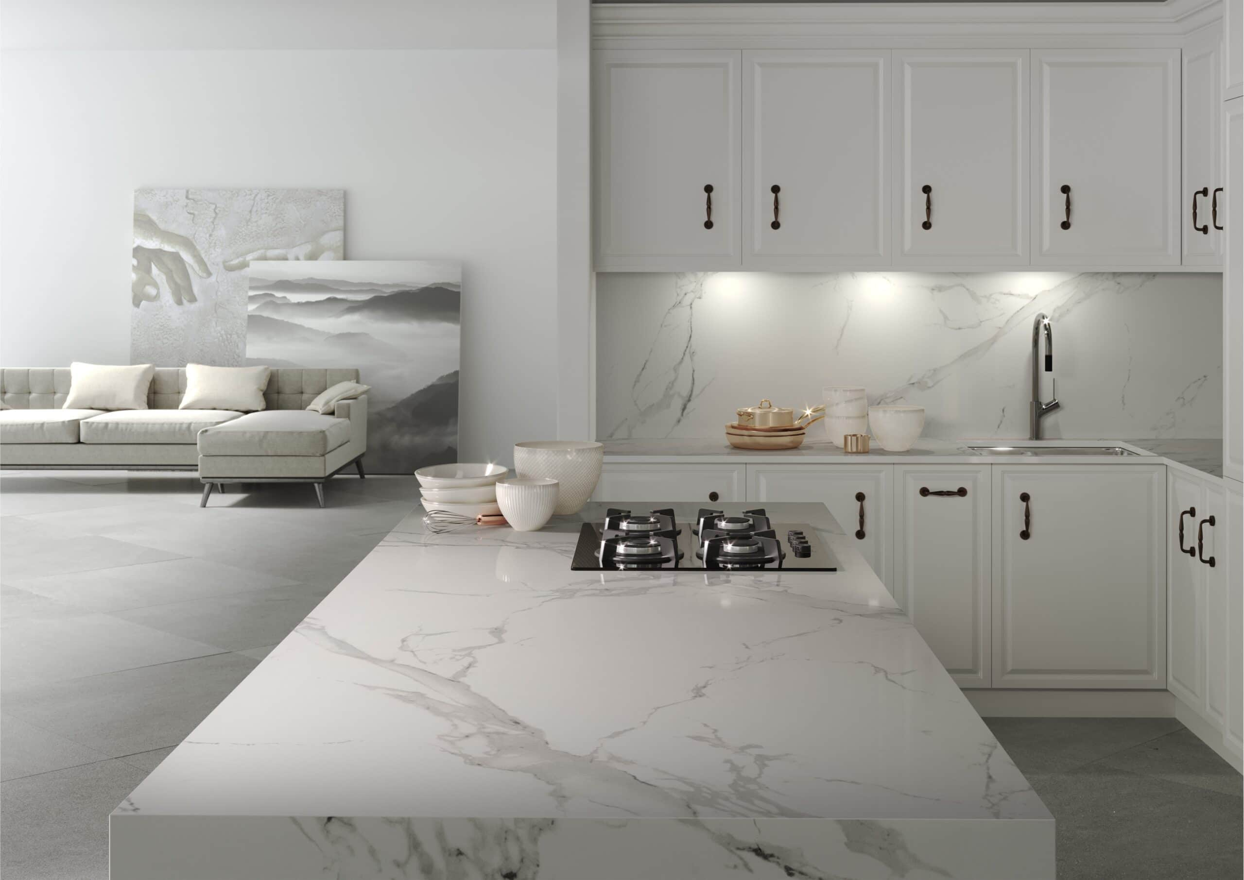 Image of post 1 2 scaled in {{Quartz or granite: examples to help you choose the ideal material for your kitchen worktop}} - Cosentino