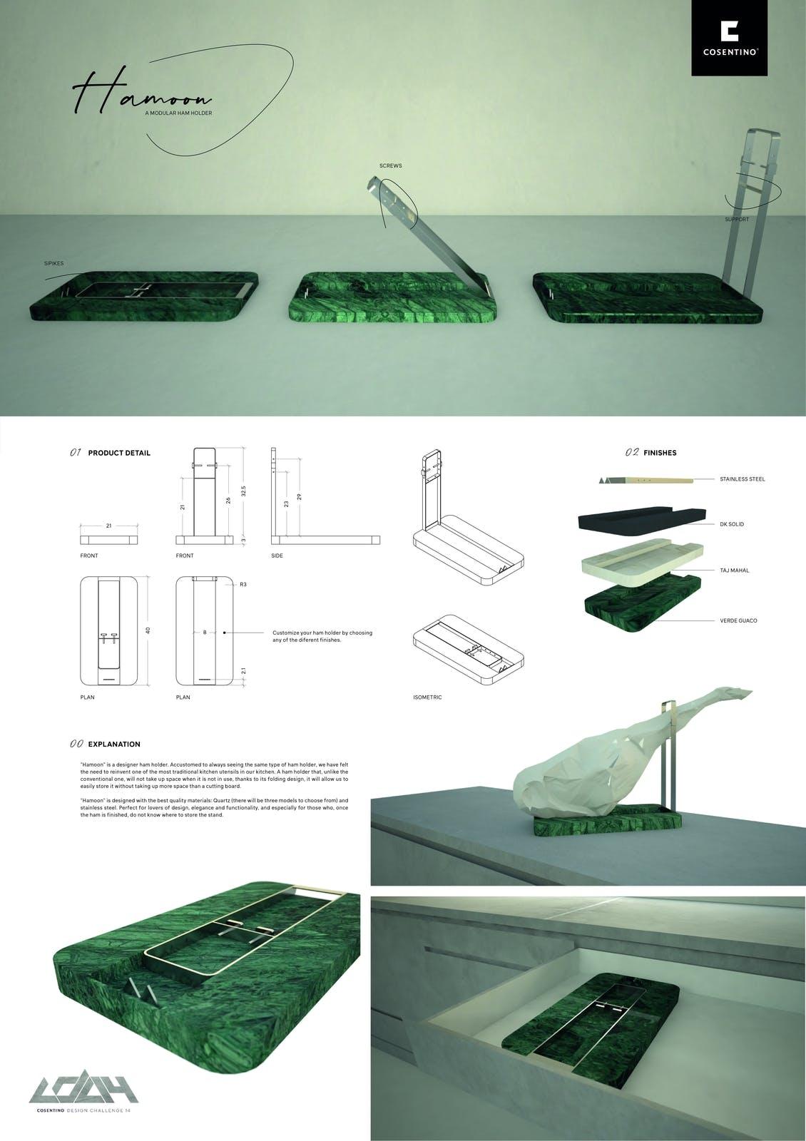 Image of 053 Hamoon s in Cosentino Design Challenge 14 winners - Cosentino