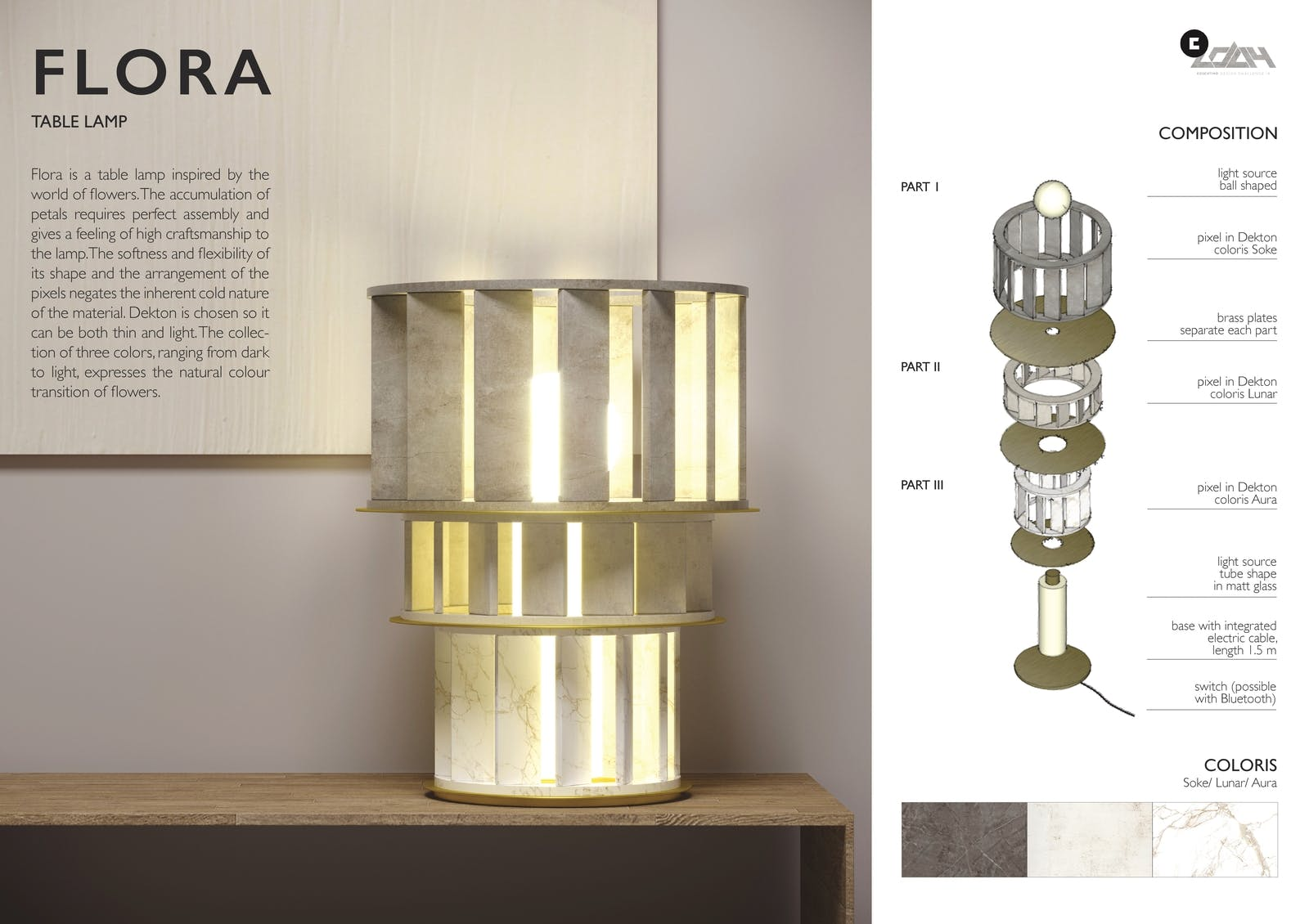 Image of 071 FLORA s in Cosentino Design Challenge 14 winners - Cosentino