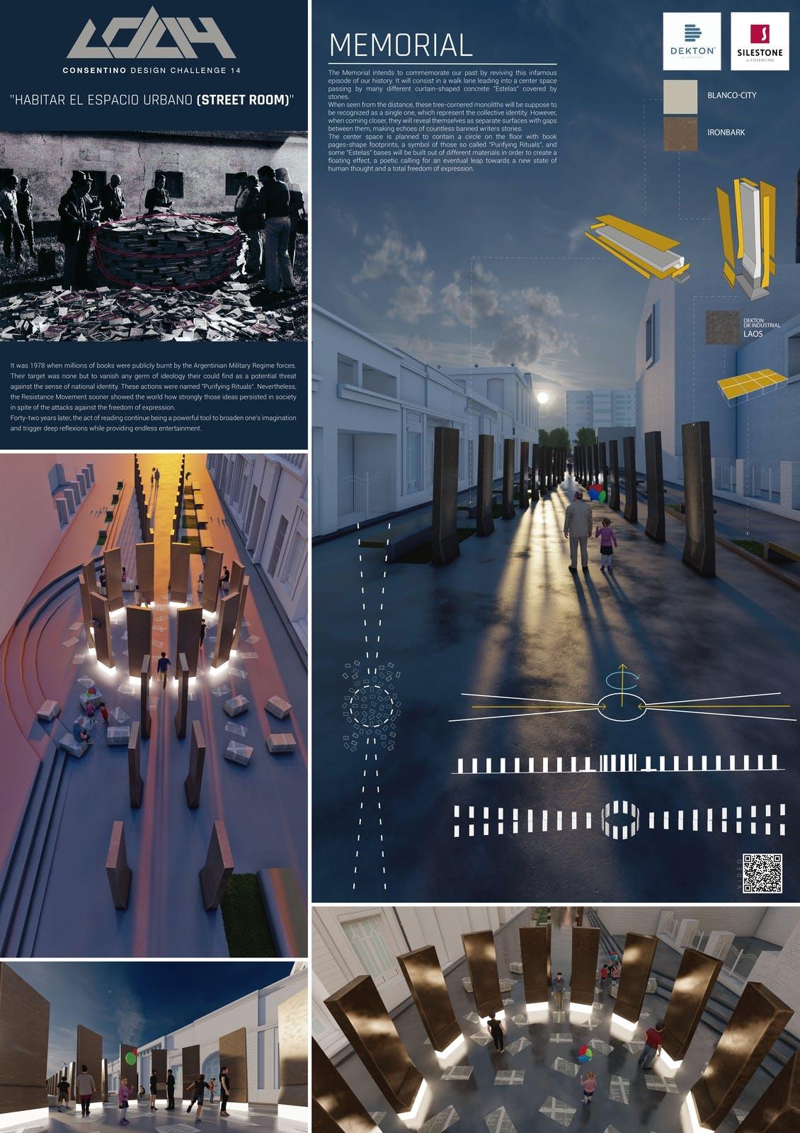 Image of 074 MEMORIAL s in Cosentino Design Challenge 14 winners - Cosentino