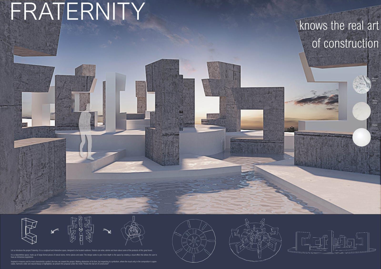 Image of 084 Fraternity s in Cosentino Design Challenge 14 winners - Cosentino
