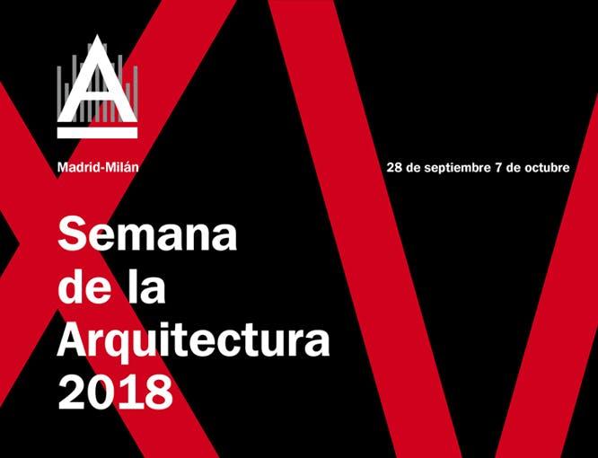 Image of 1 semana arquitectura logo 1 in Madrid Architecture Week 2018 - Cosentino
