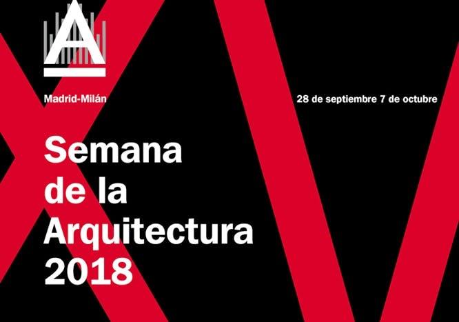 Image of 1 semana arquitectura logo 3 in Madrid Architecture Week 2018 - Cosentino