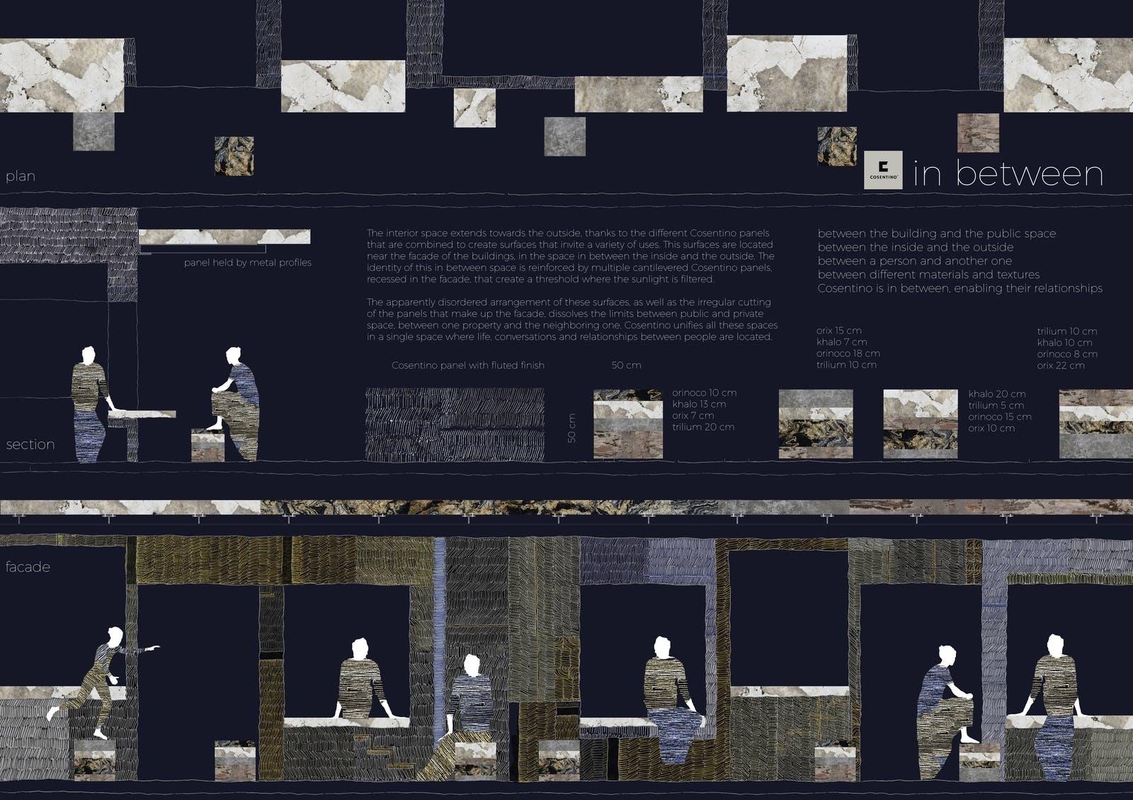 Image of 147 In Between s in Cosentino Design Challenge 14 winners - Cosentino