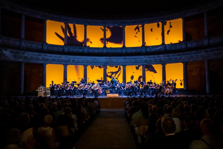 """Image of 190712 Pablo Heras Casado y Mahler Chamber Orchestra Fermin Rodriguez 056 1 baja 1 in Cosentino sponsors the closure of """"Festival de Granada"""" - Cosentino"""
