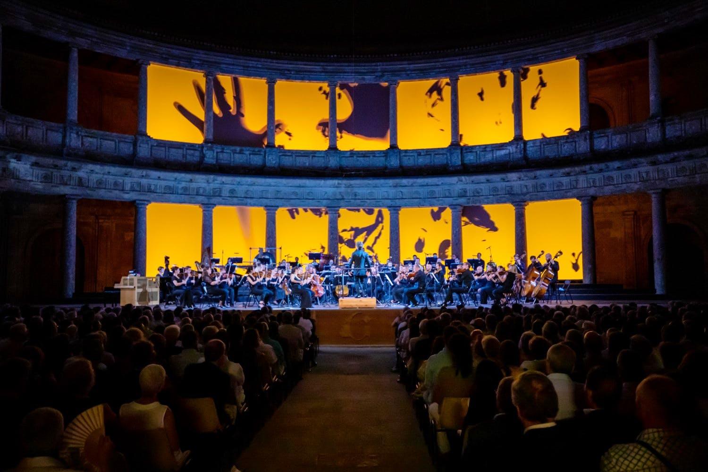 """Image of 190712 Pablo Heras Casado y Mahler Chamber Orchestra Fermin Rodriguez 056 1 baja 2 in Cosentino sponsors the closure of """"Festival de Granada"""" - Cosentino"""