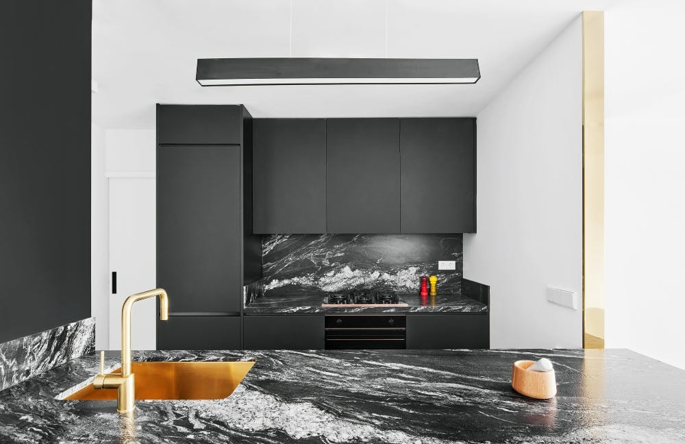 Image of 1ART 1 in Connected spaces creating an open and brilliant home - Cosentino
