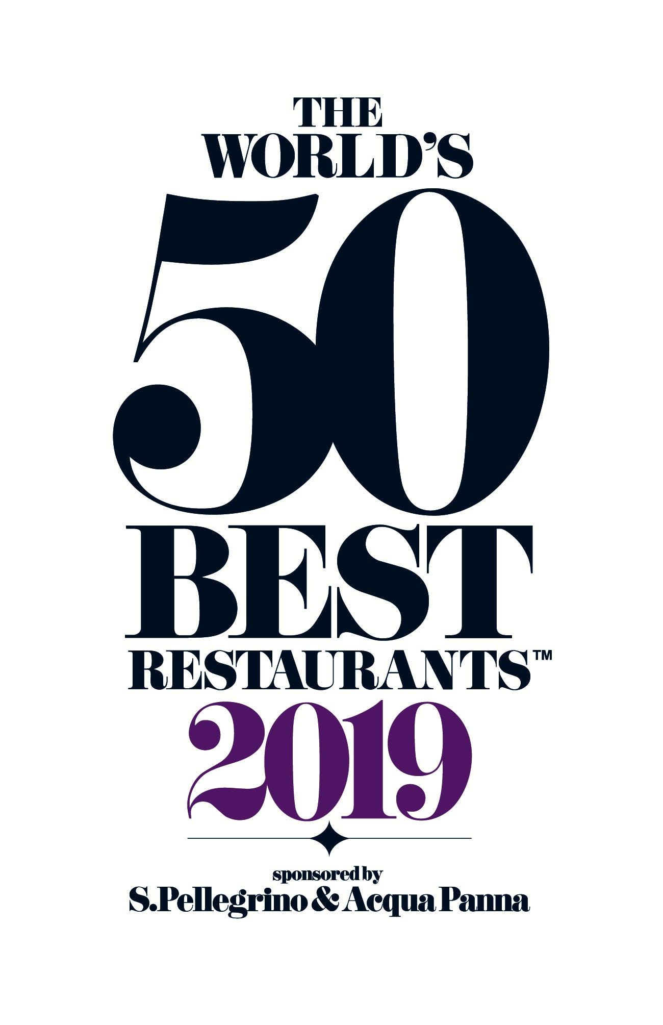 Image of 50Best World TM 2019 PRIMARY 2 in Dekton® by Cosentino: Official Sponsor of The World's 50 Best Restaurants 2019 - Cosentino