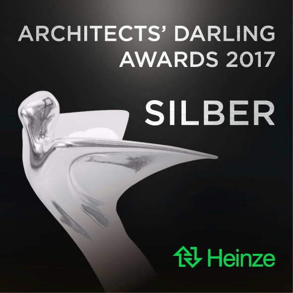 Image of AD Signets 2017 5x5cm 300dpi 171011 Silber 1 1 3 in Cosentino's C Magazine is Honoured with the German Silver Architect's Darling Award 2017 - Cosentino