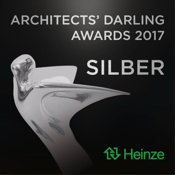 Image of AD Signets 2017 5x5cm 300dpi 171011 Silber 1 3 in Cosentino's C Magazine is Honoured with the German Silver Architect's Darling Award 2017 - Cosentino