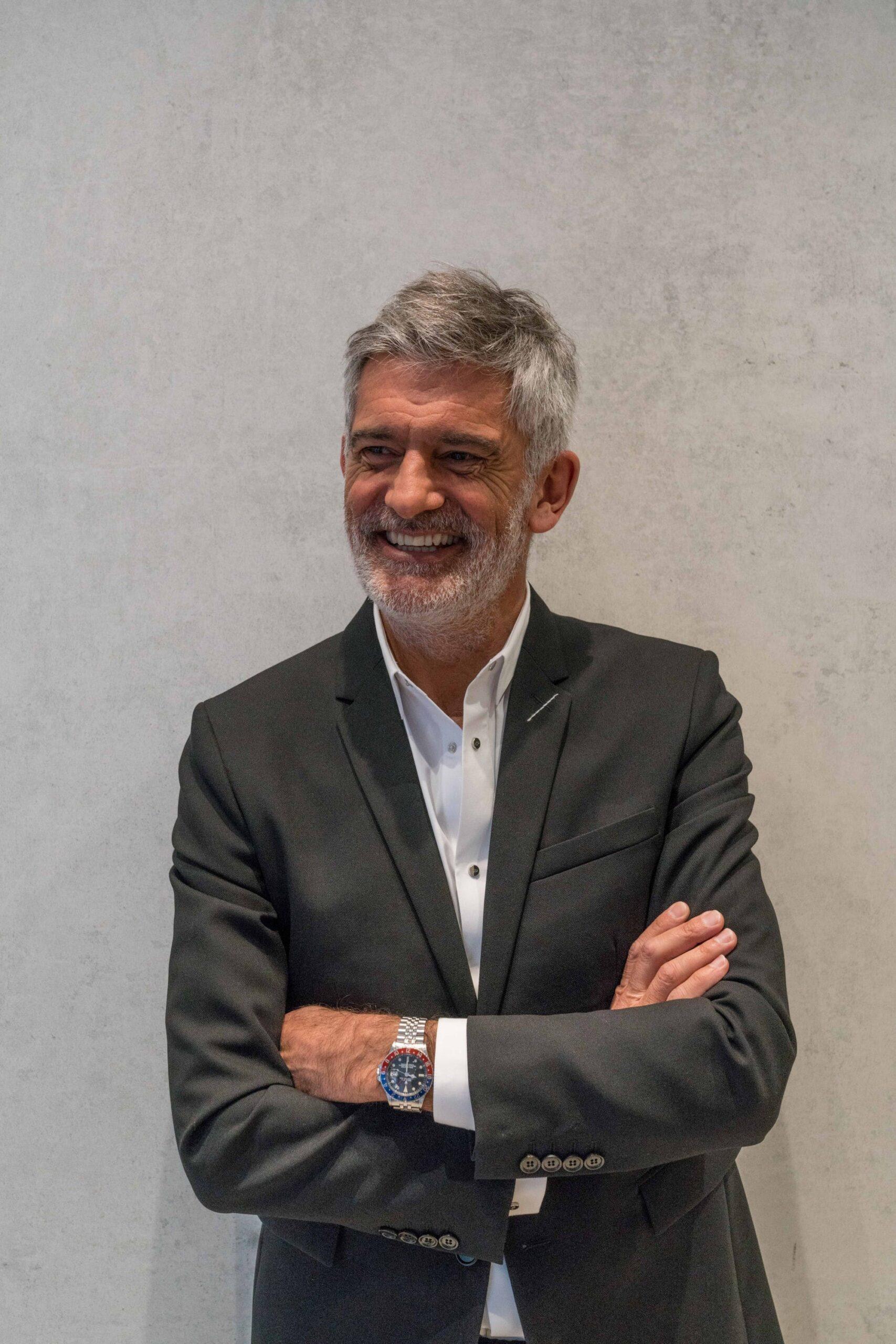 Image of Alfredo Haberli en Cosentino City Madrid 3 baja 1 scaled in Alfredo Häberli chooses Dekton® for his kitchen for the future - Cosentino