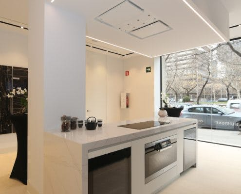 """Image of Ambiente Cosentino City Madrid 495x400 2 3 in Madrid welcomes Cosentino Group´s first """"City"""" in Spain - Cosentino"""