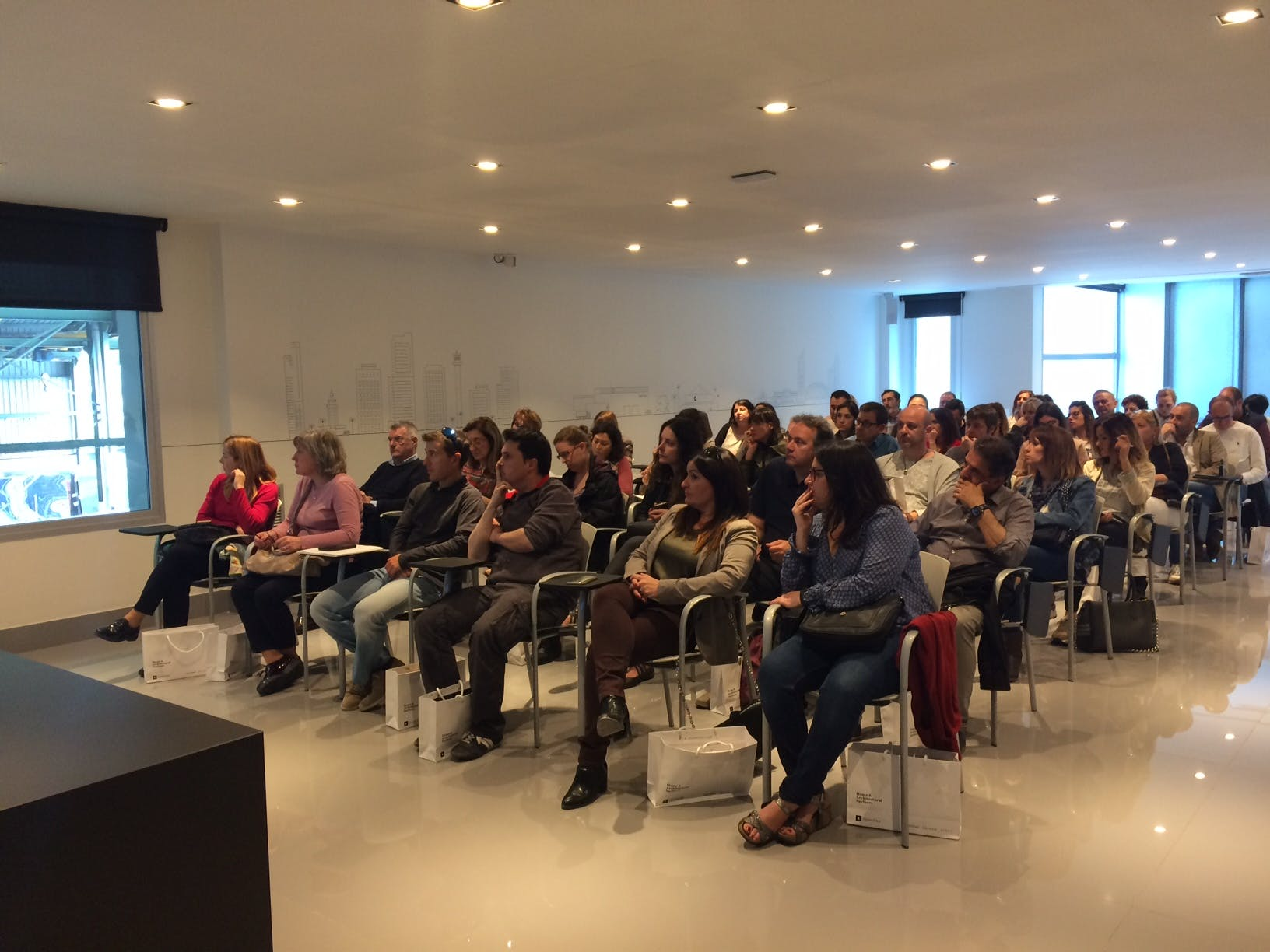 Image of Aula Cosentino Barcelona Center 1 in Cosentino brings together more than 2,000 k&b professionals - Cosentino