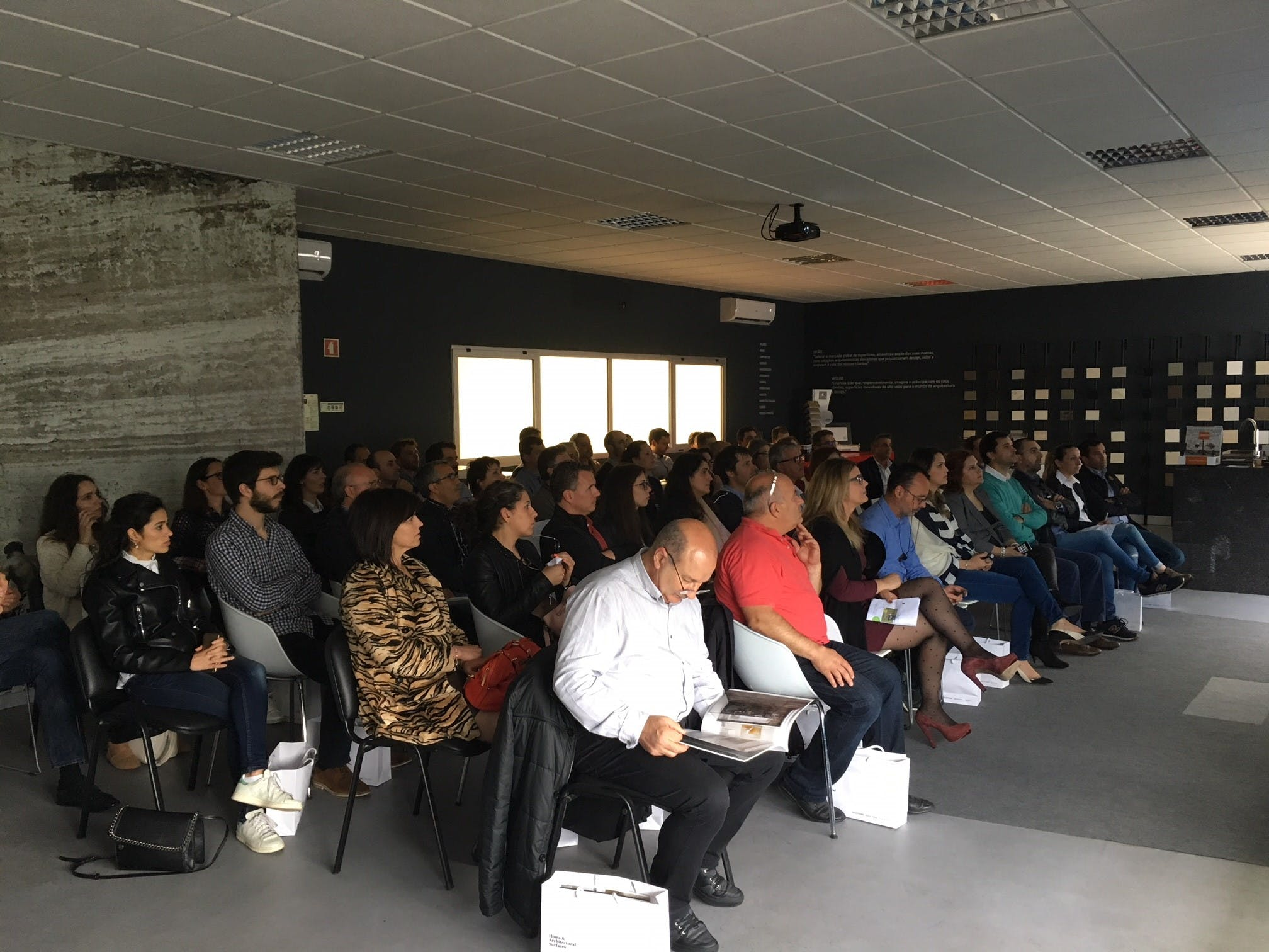 Image of Aula Cosentino Oporto Center 1 in Cosentino brings together more than 2,000 k&b professionals - Cosentino