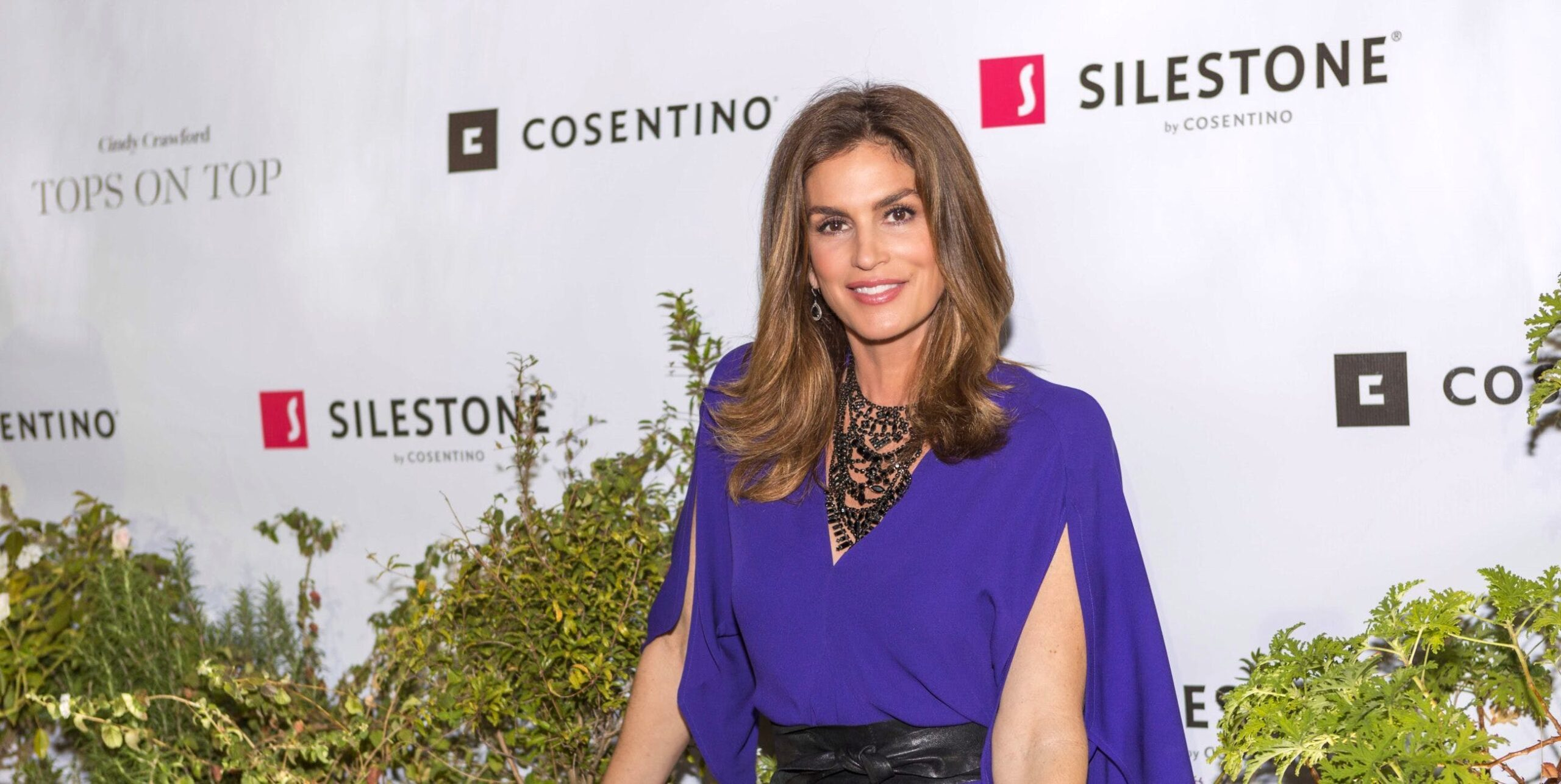 """Image of BLOG portada Cindy Crawford Cosentino 7 prensa scaled in Cindy Crawford and """"Tops on Top"""" by Silestone® in Houston - Cosentino"""