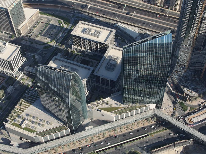 Image of Boulevard Plaza Offices Aedas CC 3 in Dubai joins C Guide - Cosentino