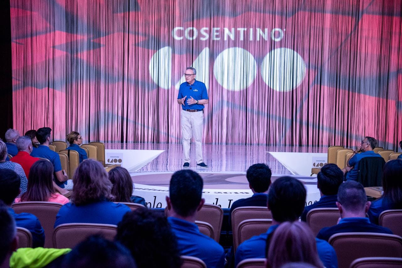 """Image of C100 2 in Record number of participating companies in the latest edition of the """"Cosentino 100"""" Convention - Cosentino"""