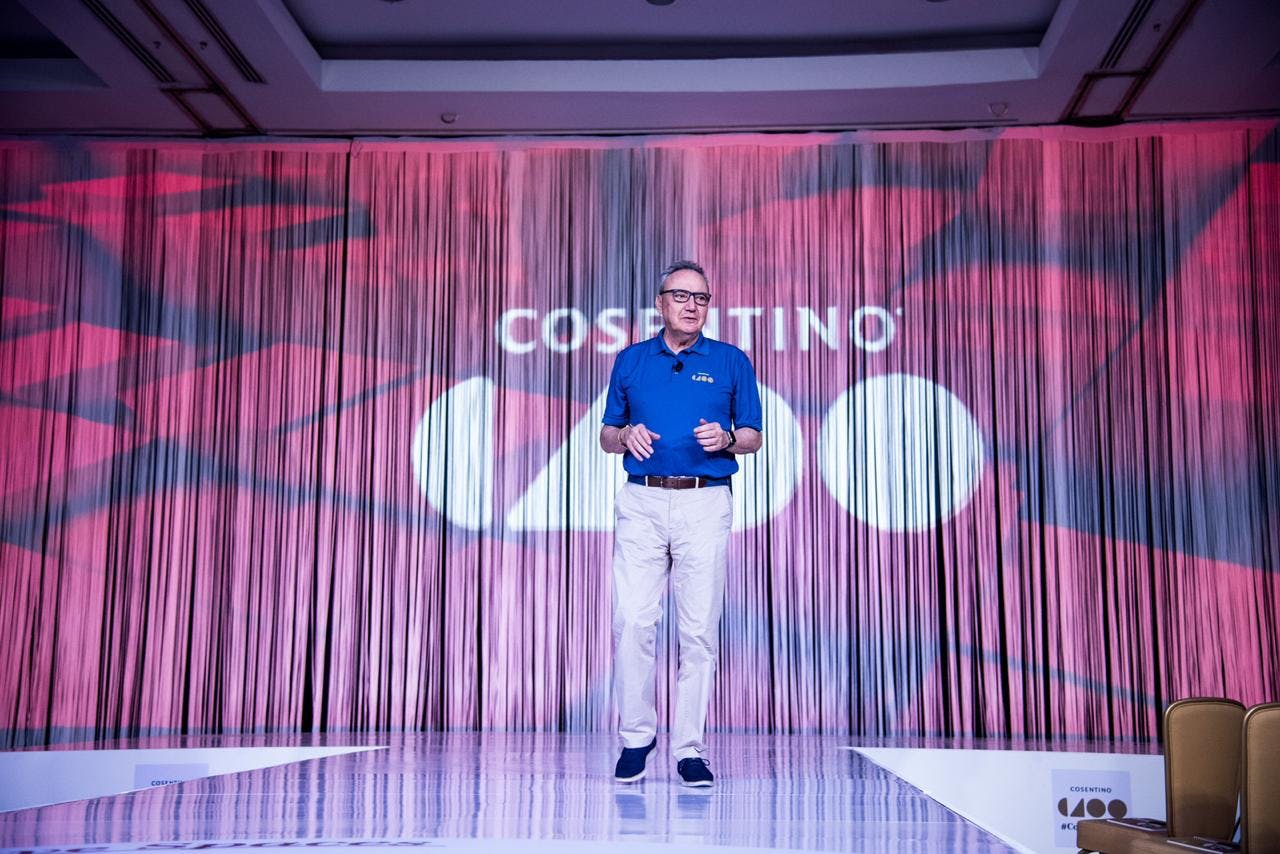 """Image of C100 1 1 2 in Record number of participating companies in the latest edition of the """"Cosentino 100"""" Convention - Cosentino"""