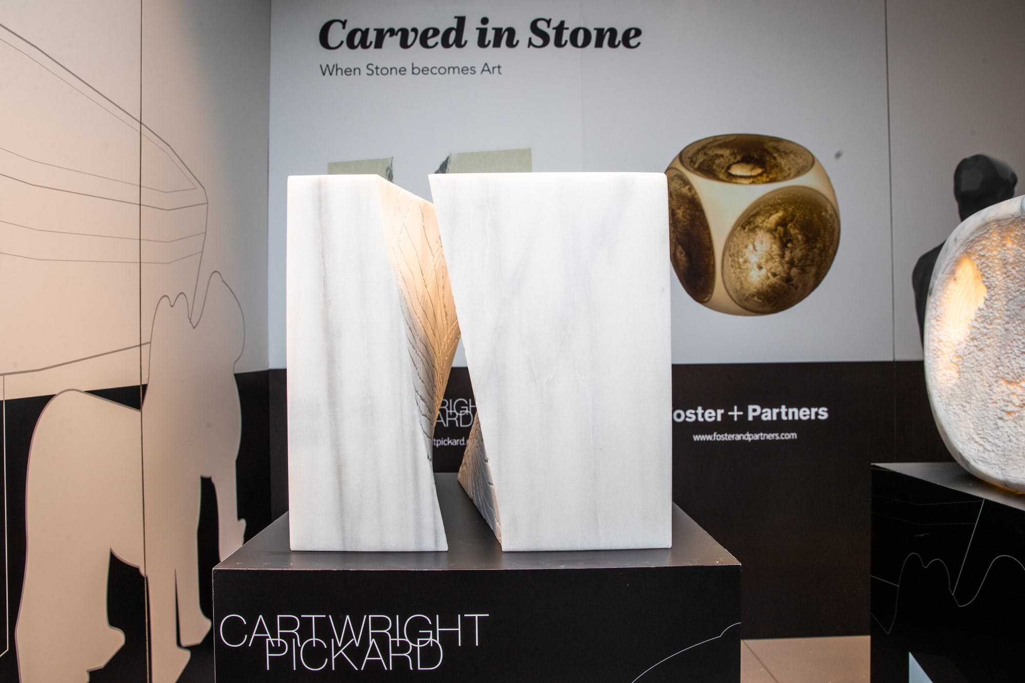 Image of Cartwright Pickard Sculpture 4 in Cosentino Announces the Winners of its Carved in Stone Competition - Cosentino