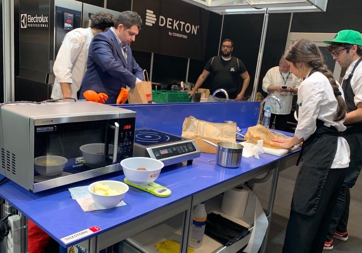 "Image of Cocinas MF 2020 1 1 in Niko Romito, ""European Chef of the Year Award"" by Dekton® - Cosentino"