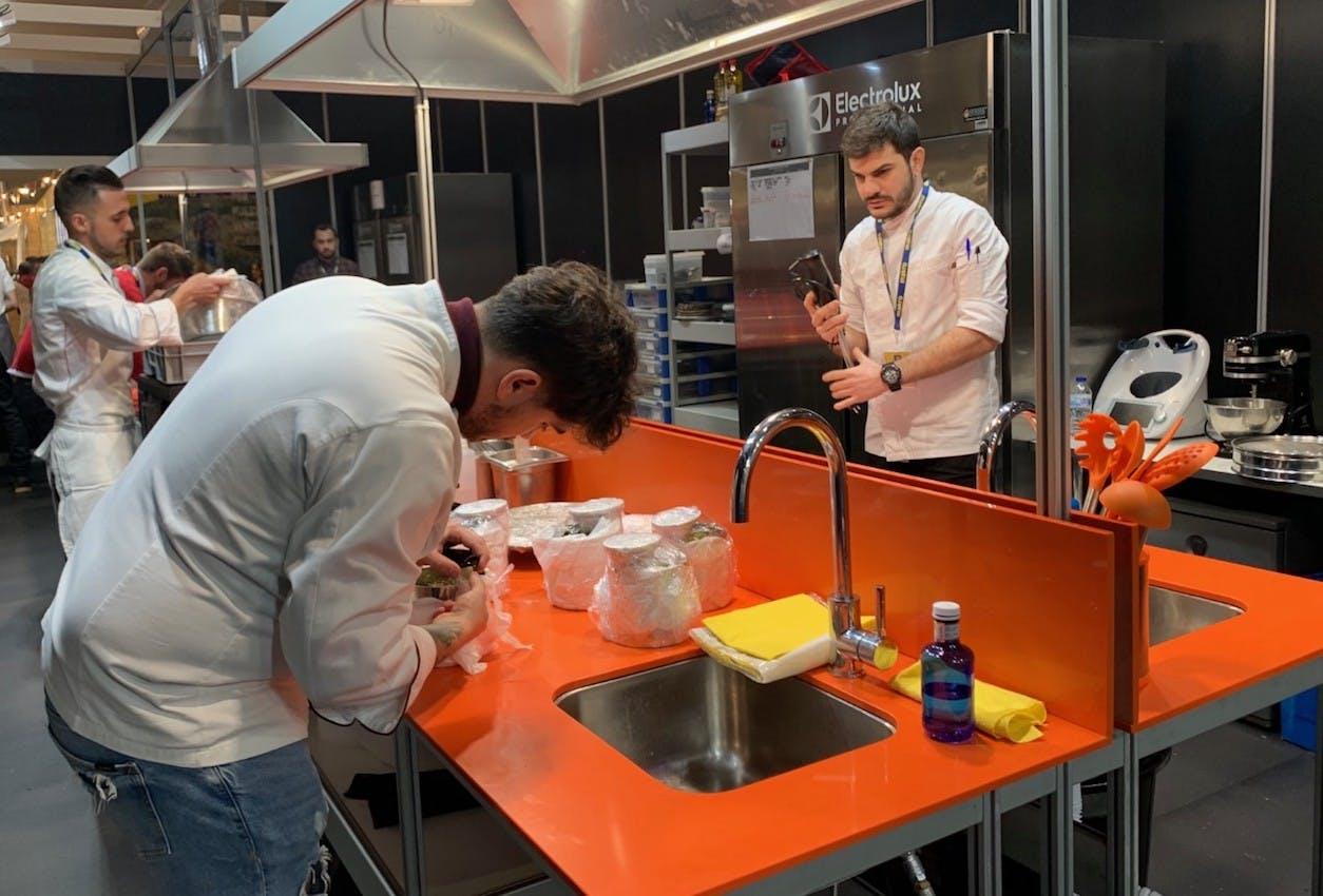 "Image of Cocinas MF 2020 3 1 in Niko Romito, ""European Chef of the Year Award"" by Dekton® - Cosentino"
