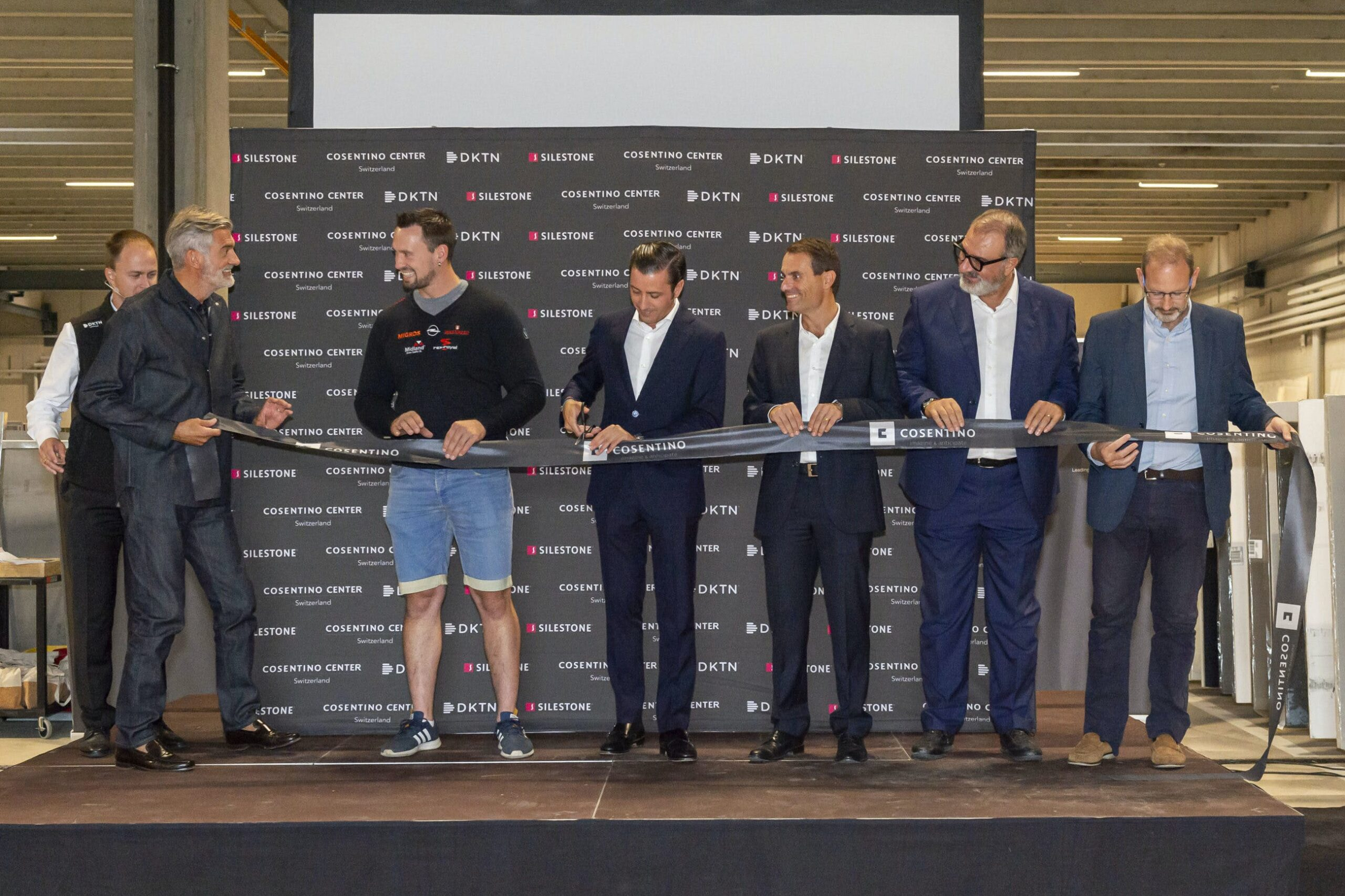 "Image of Cosentino Swiss opening 3 5 scaled in Cosentino Group launches new ""Center"" in Switzerland - Cosentino"
