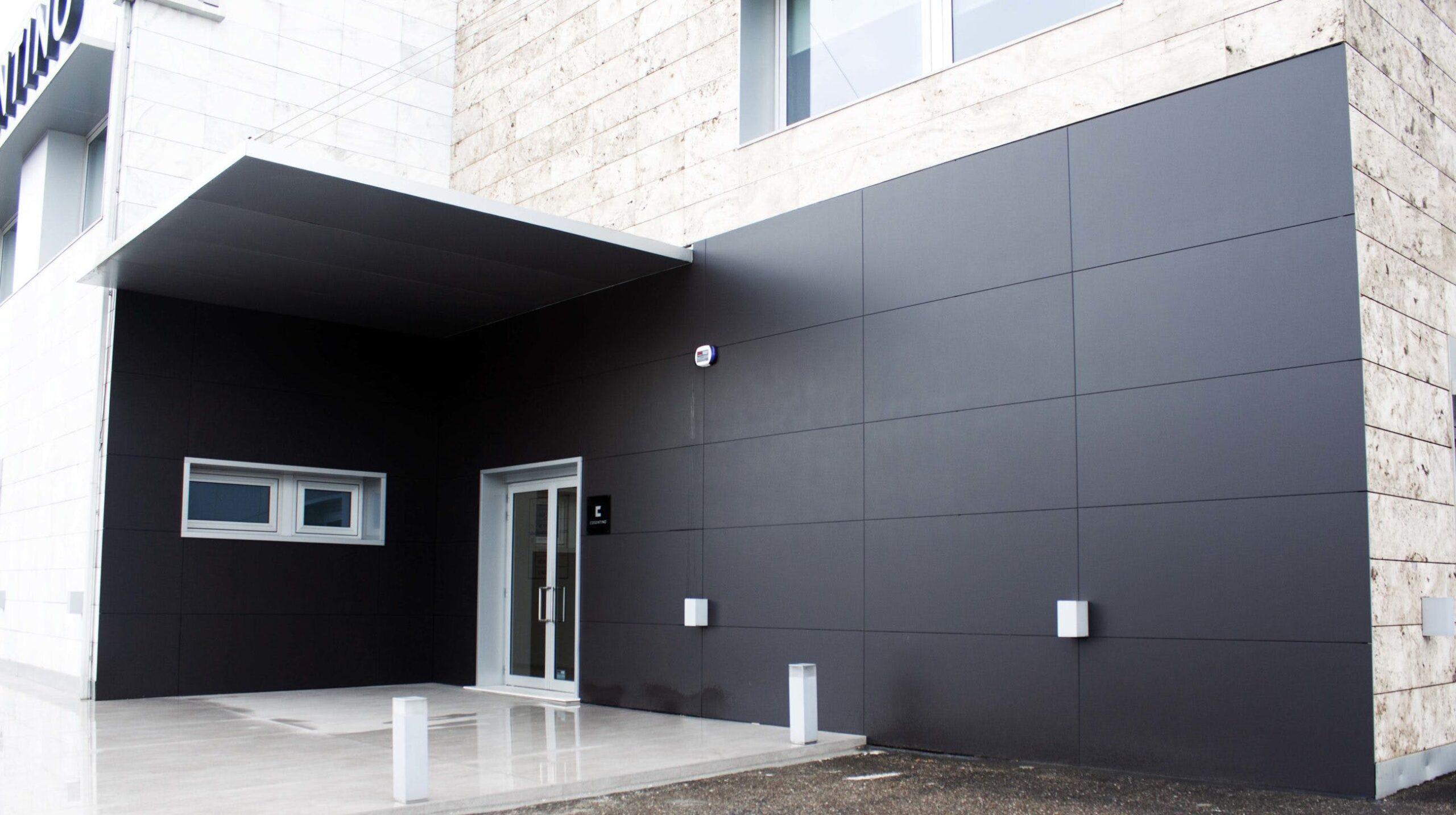 Image of Cosentino Vigo Center Fachada Dekton Domoos 1 scaled in Cosentino Center Vigo undertakes a beautiful renovation - Cosentino