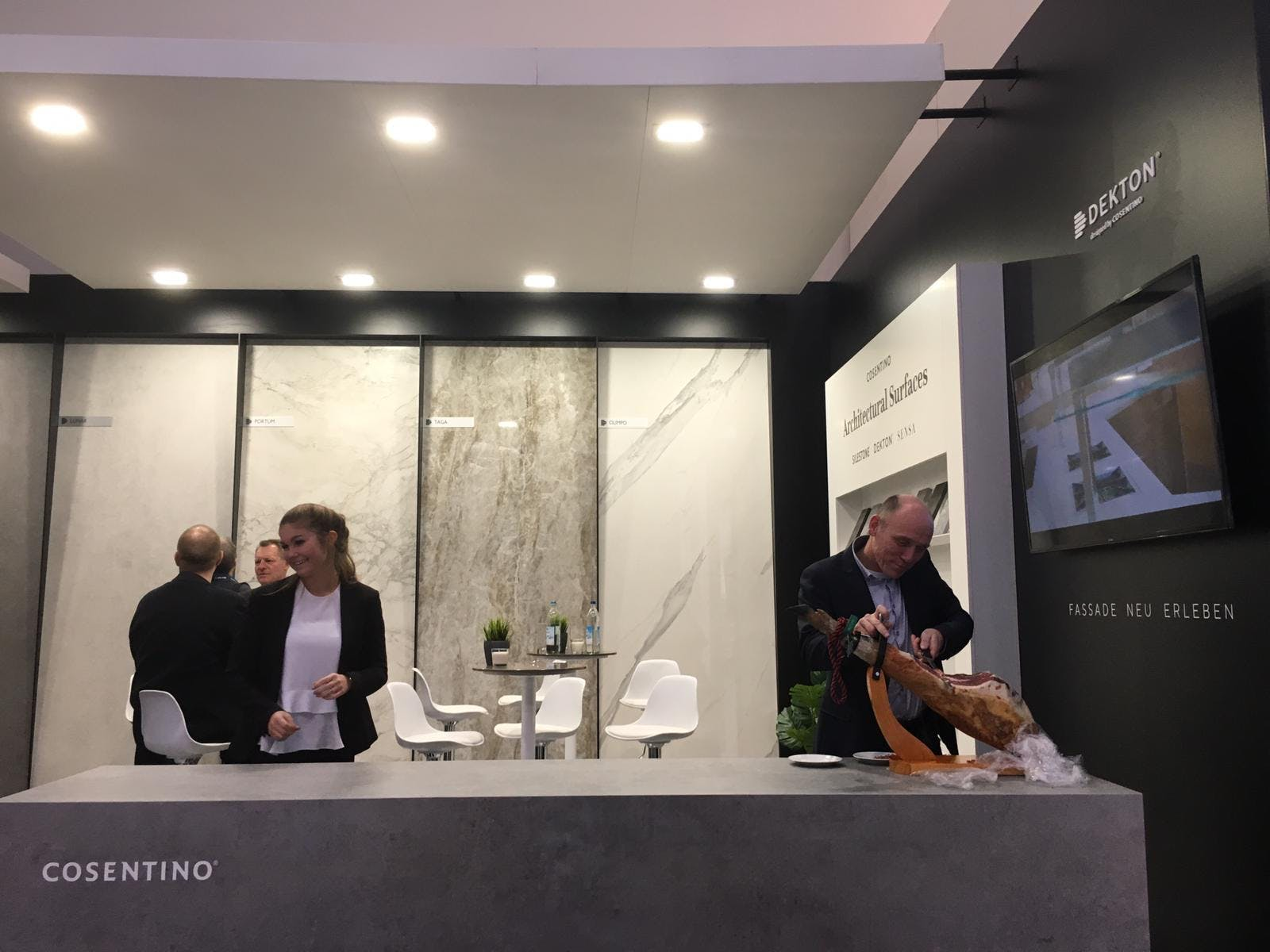 Image of Cosentino stand BAU 2019 1 in Cosentino presents its novelties at BAU 2019 - Cosentino