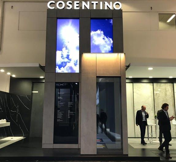 Image of Cosentino stand BAU 2019 2 1 in Cosentino presents its novelties at BAU 2019 - Cosentino