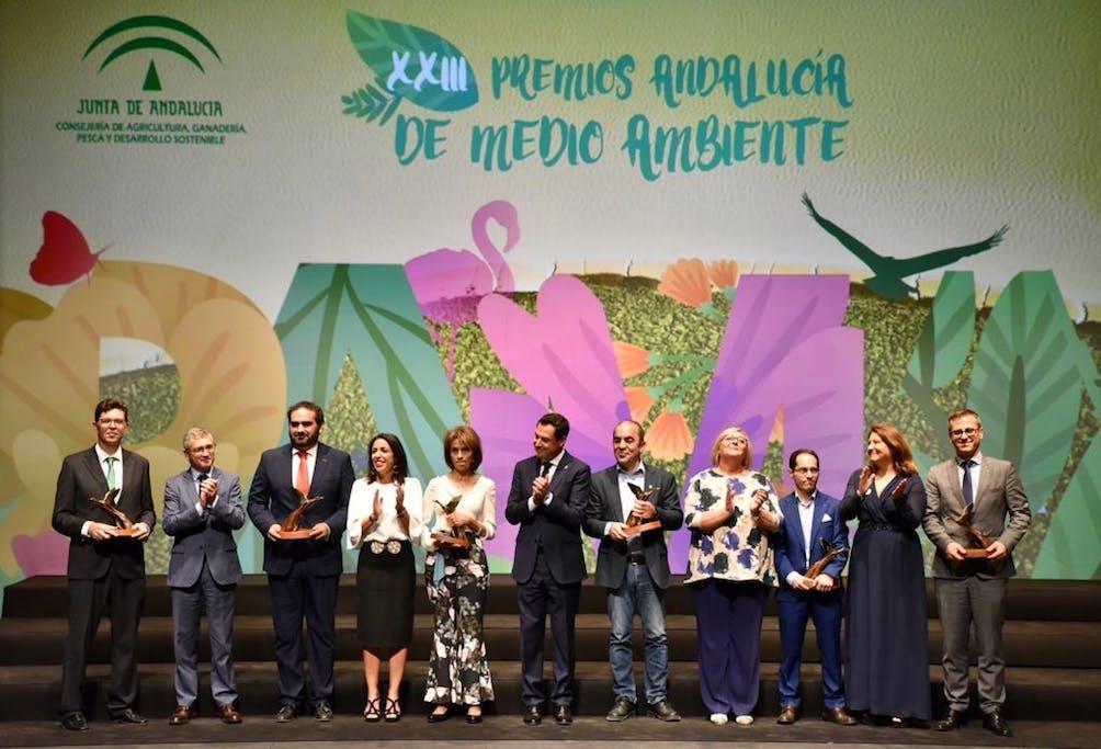 Image of Cosentino Premio PAMA foto ganadores 1 in Cosentino, receives Environment Award from Andalusia Regional Government - Cosentino