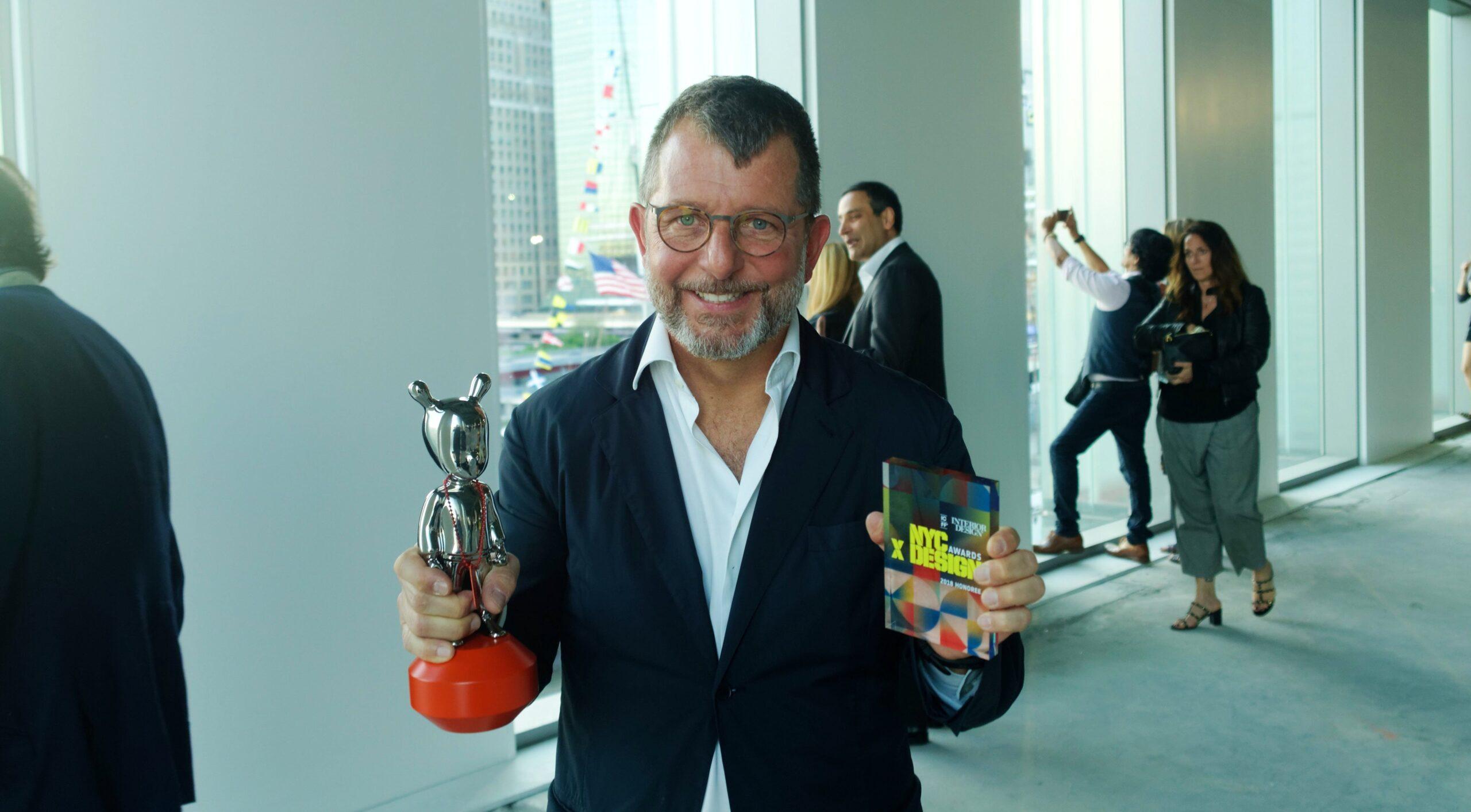 Image of Daniel Germani 1 1 4 scaled in DeKauri by Daniel Germani Wins 2018 NYCxDESIGN Award - Cosentino