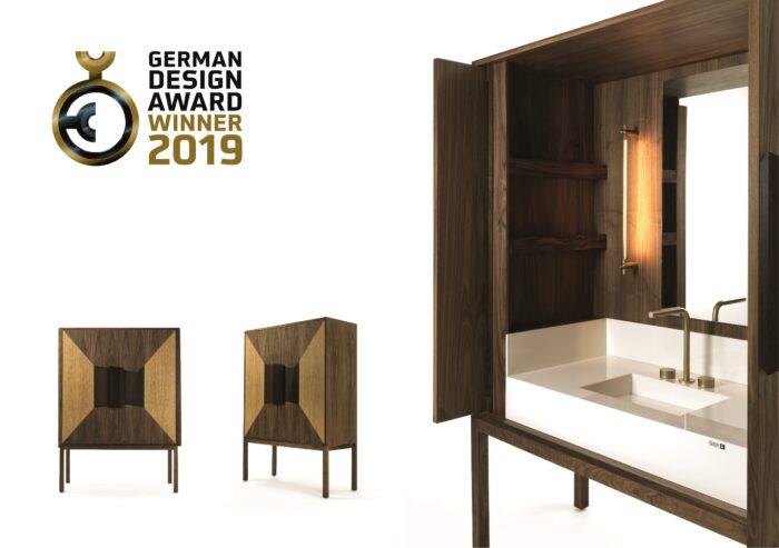 "Image of Dekauri German Design Award 2019 2 in The best ""Elite"" shops in Europe visit Cosentino - Cosentino"