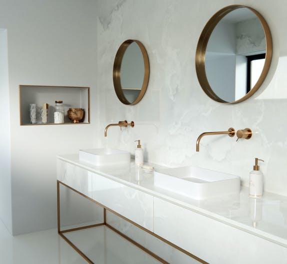 Image of Dekton Bathroom Helena A e1579247811611 in Dekton Avant-Garde Series Named Honored in 2020 NYCxDesign Awards - Cosentino