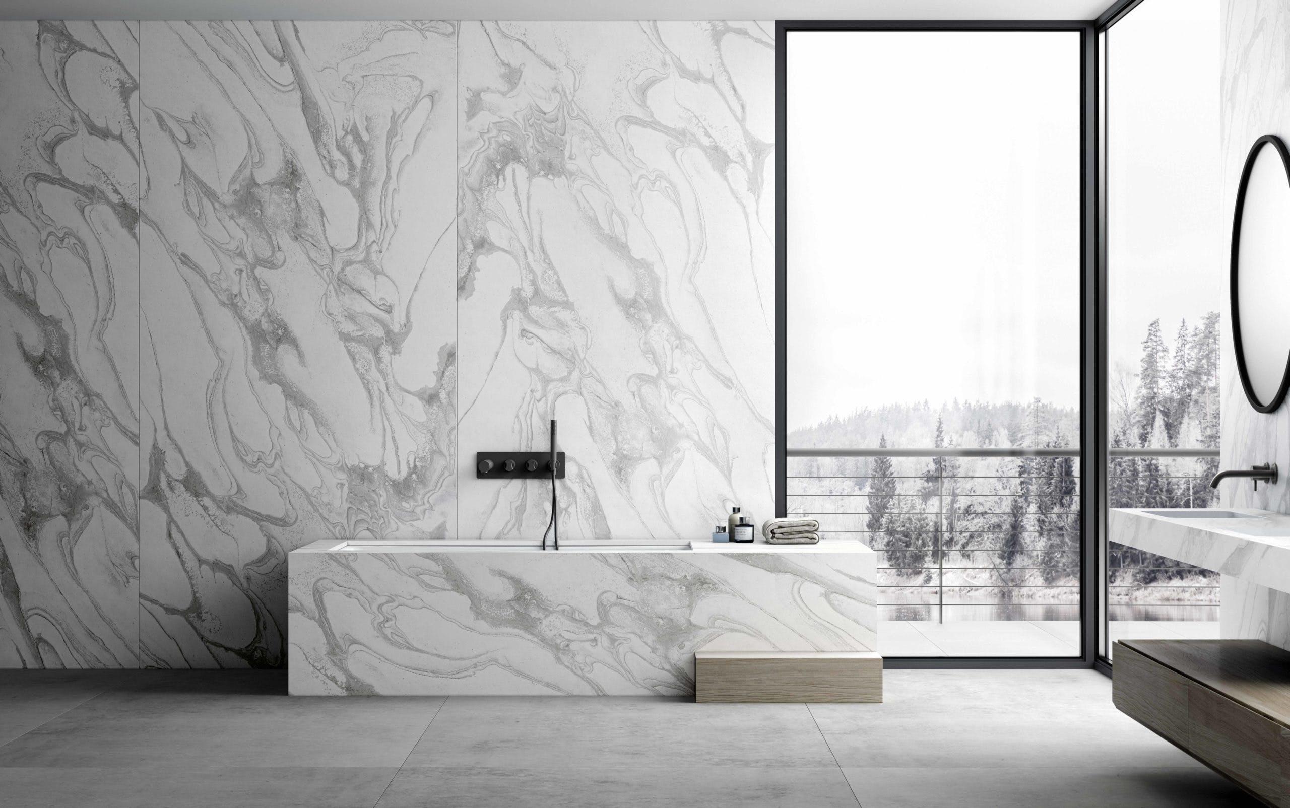 Image of Dekton Bathroom Sky blog 1 scaled 3 in Dekton® Liquid by PATTERNITY - Cosentino
