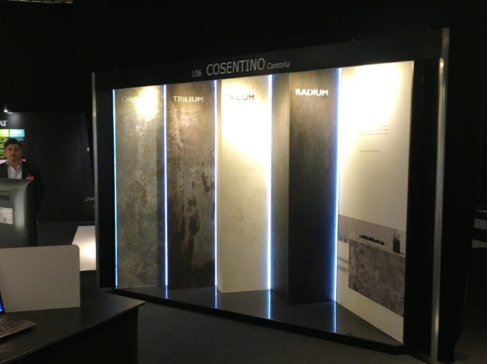 """Image of Dekton Industrial Architech@Work Madrid 2 b 1 in Ron Arad and """"10 Layers"""" at the Mutua Madrid Open with Cosentino - Cosentino"""