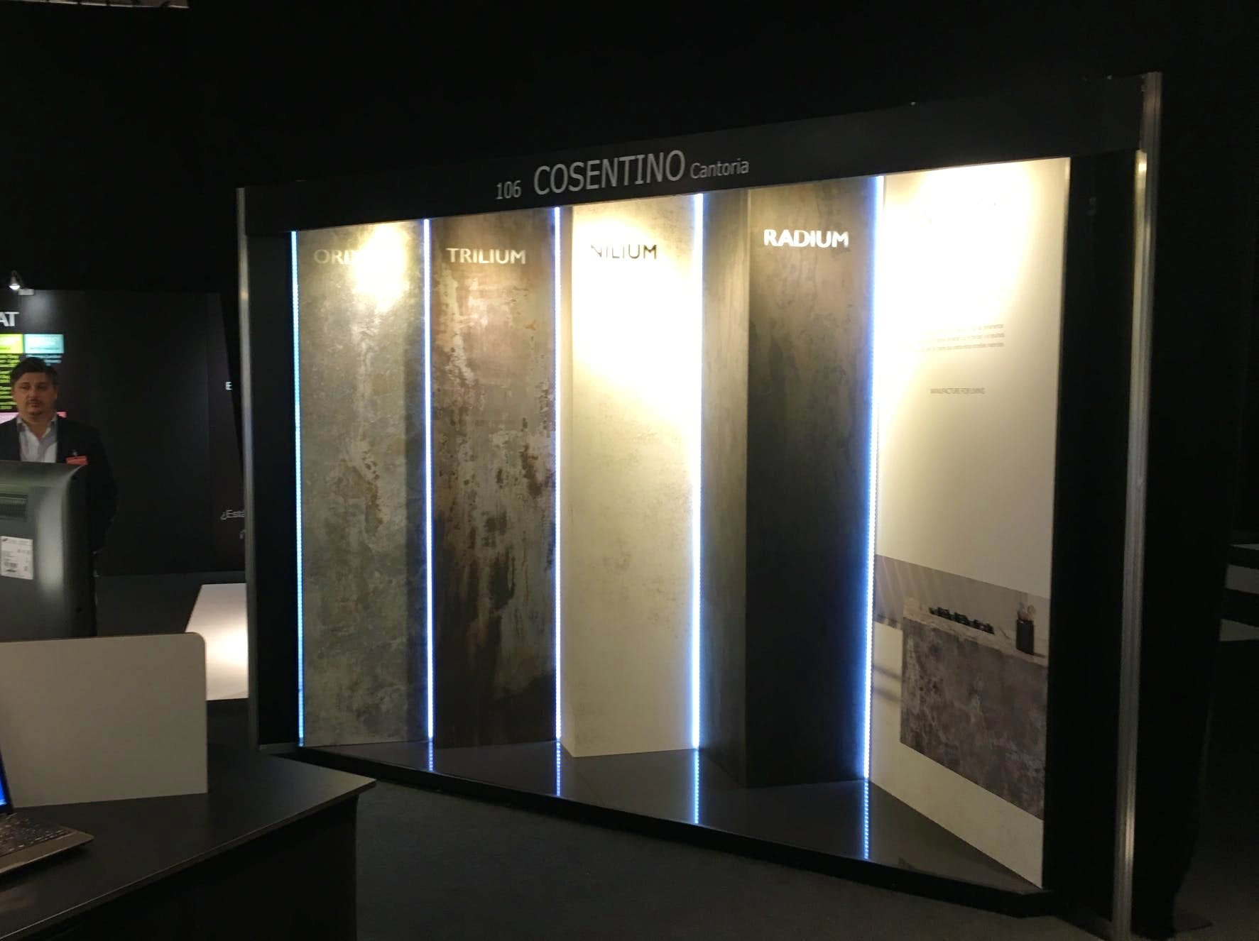Image of Dekton Industrial Architech@Work Madrid 2 b 1 in Cosentino Group, present at the 1st edition of Architect@Work Madrid - Cosentino
