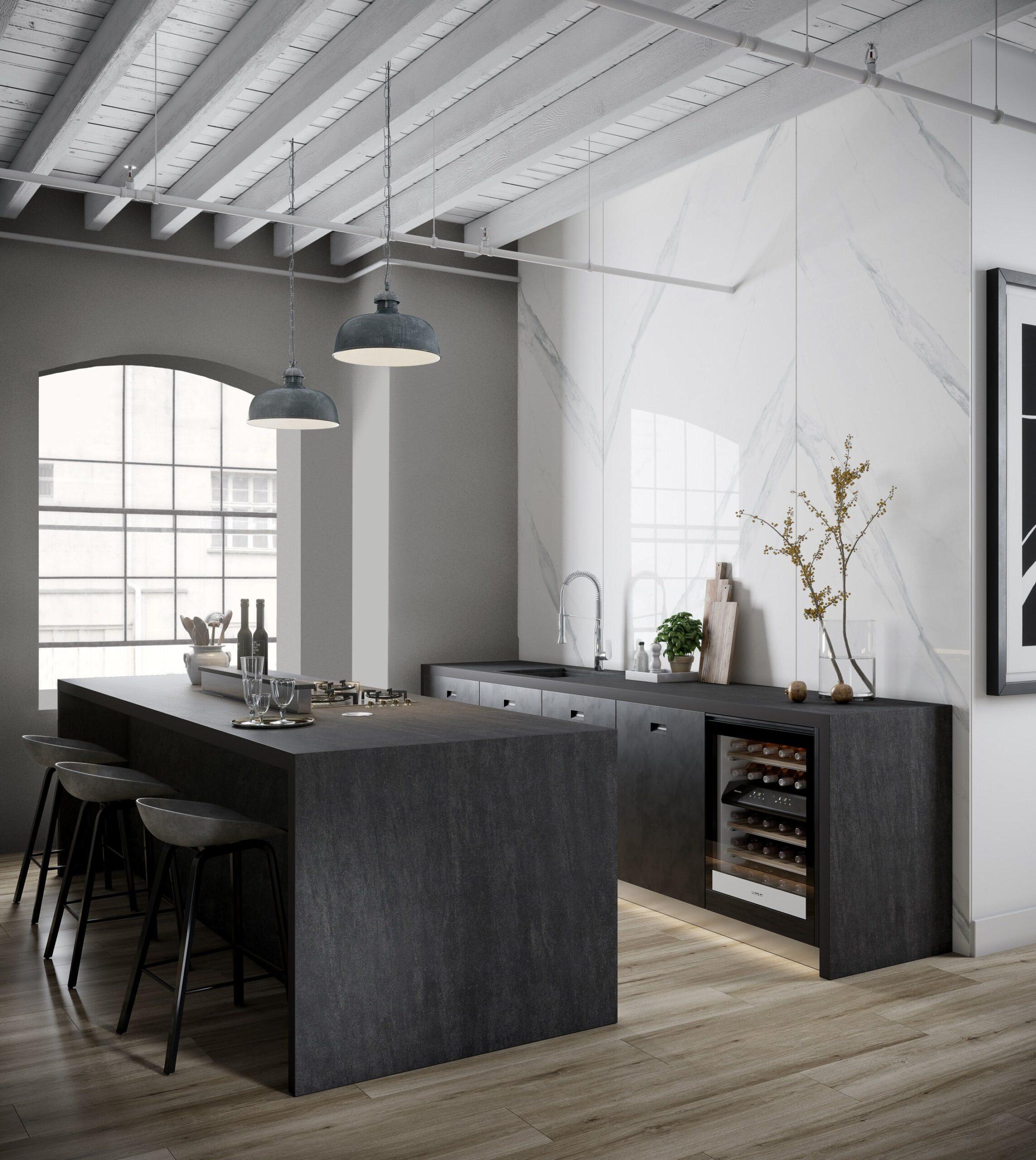 Image of Dekton Kitchen Bromo lr scaled in Dekton® Bromo and Milar - Cosentino