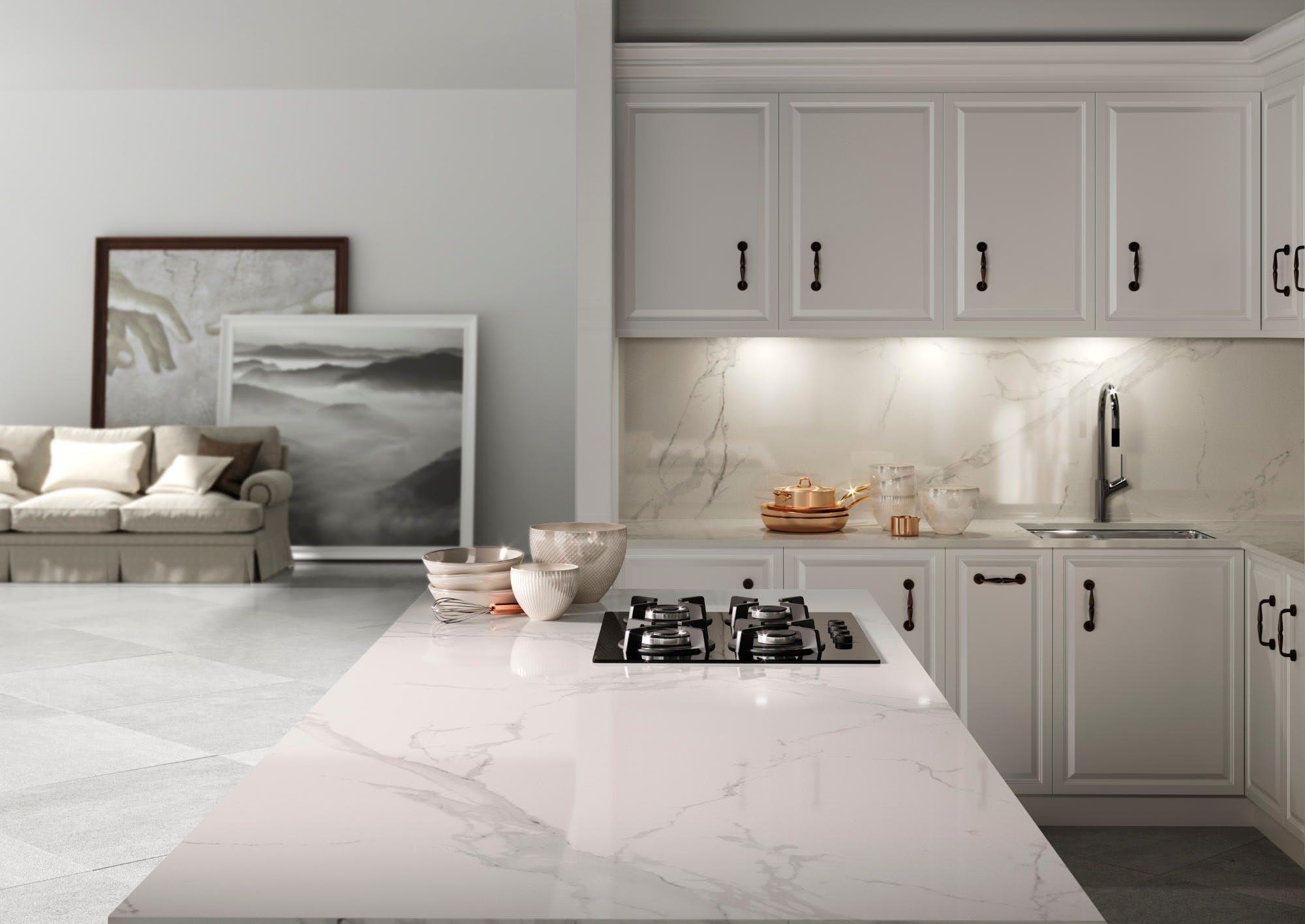 Image of Dekton Kitchen HD Natura 2 5 1 in The Top 7 Kitchen Makeover Trends - Cosentino