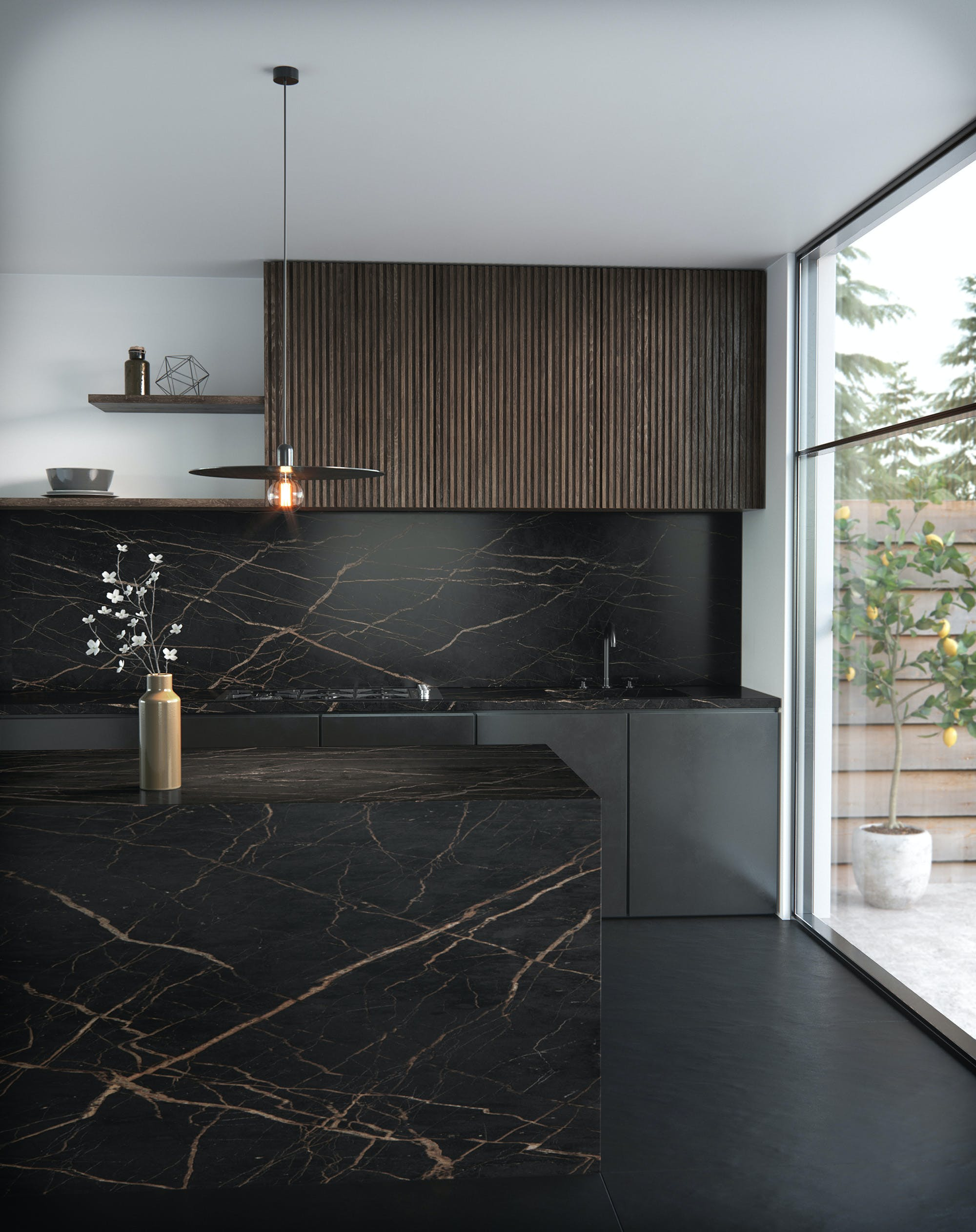 Image of Dekton Kitchen Laurent 4 1 in Spending more time at home? Get the most from your kitchen with these ideas - Cosentino