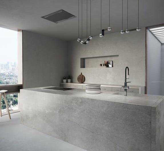 Image of Dekton Kitchen Soke 1 in Dekton Industrial wins Popular Choice Vote in 2018 Architizer A+ Awards - Cosentino