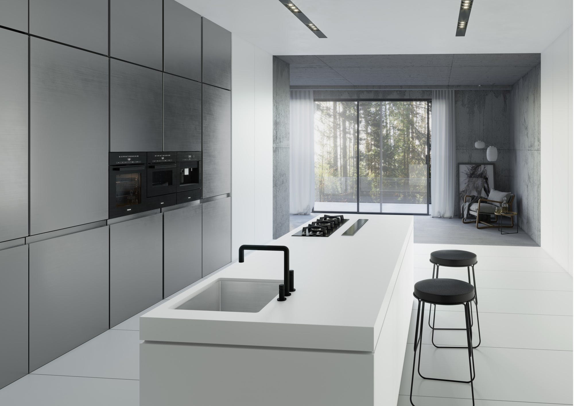 Image of Dekton Kitchen Uyuni blog 1 1 in Dekton® Uyuni, the purest and most advanced white - Cosentino