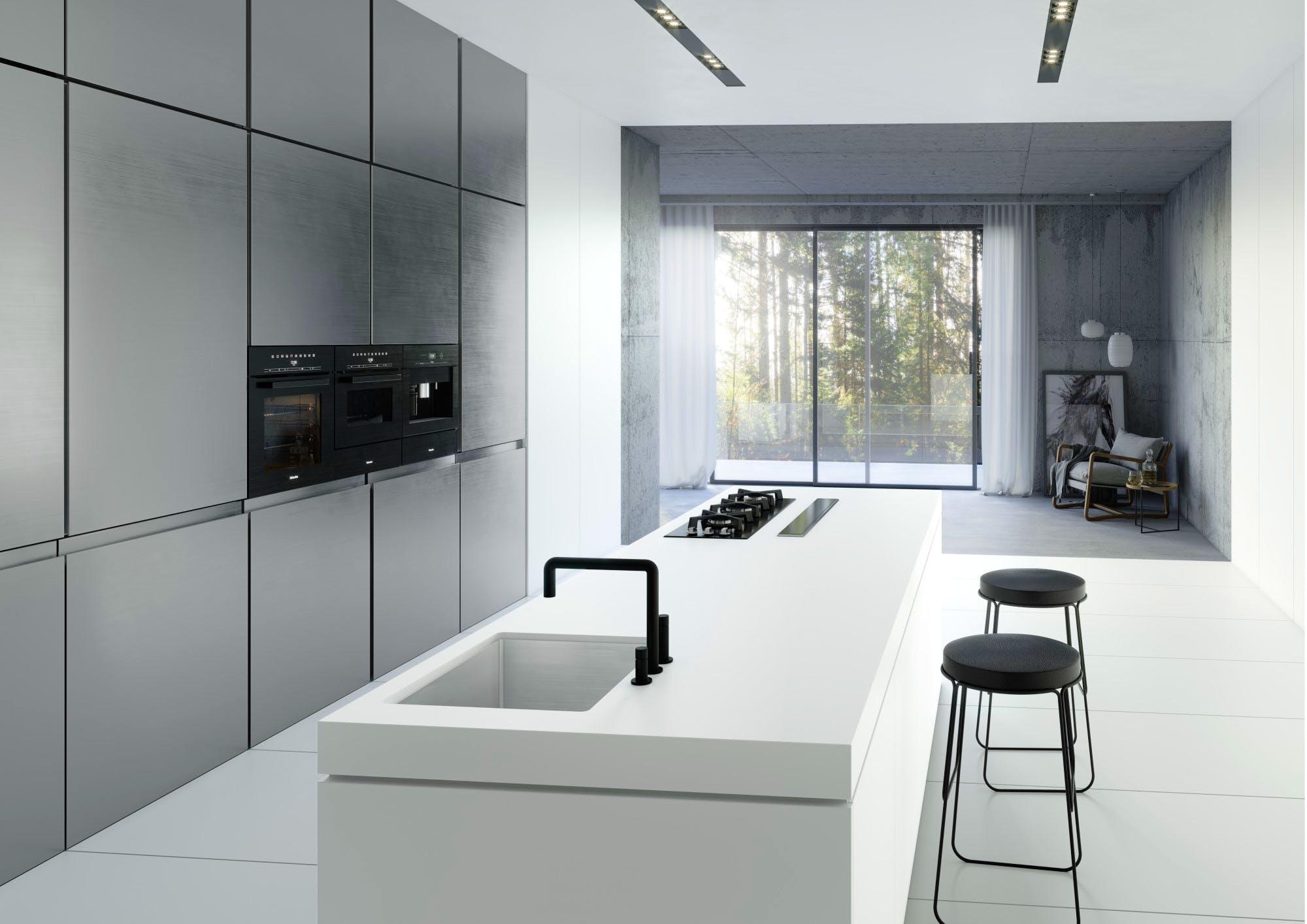 Image of Dekton Kitchen Uyuni blog 1 2 in Dekton® Uyuni, the purest and most advanced white - Cosentino