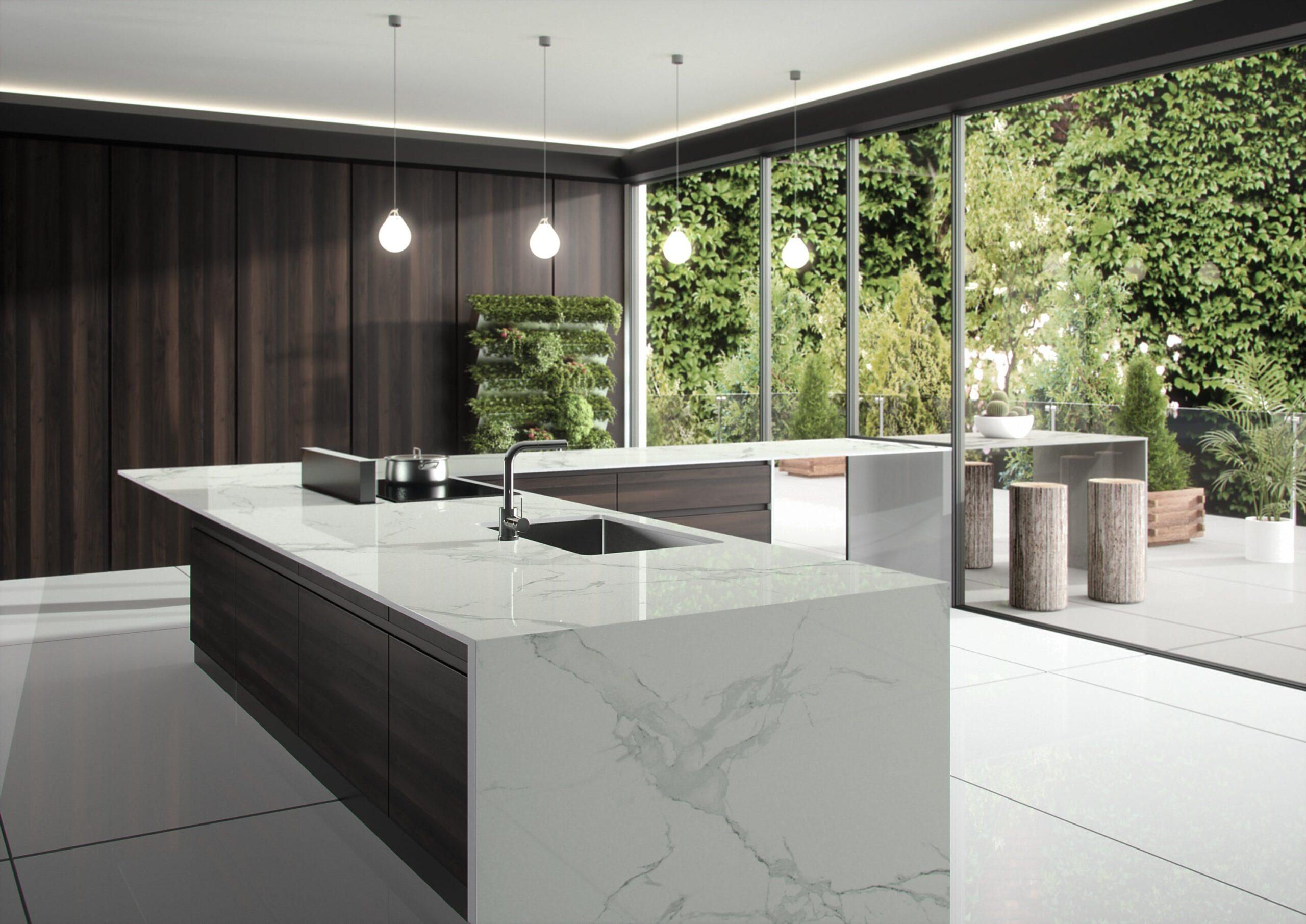 Image of Dekton Natura kitchen countertop LR 5 scaled in Dekton® by Cosentino Introduces Opera and Natura - Cosentino
