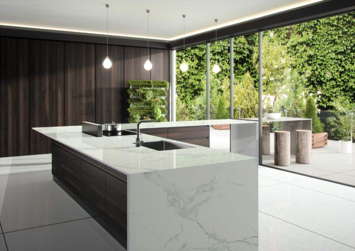Image of Dekton Natura kitchen countertop LR 6 in Dekton® by Cosentino Introduces Opera and Natura - Cosentino