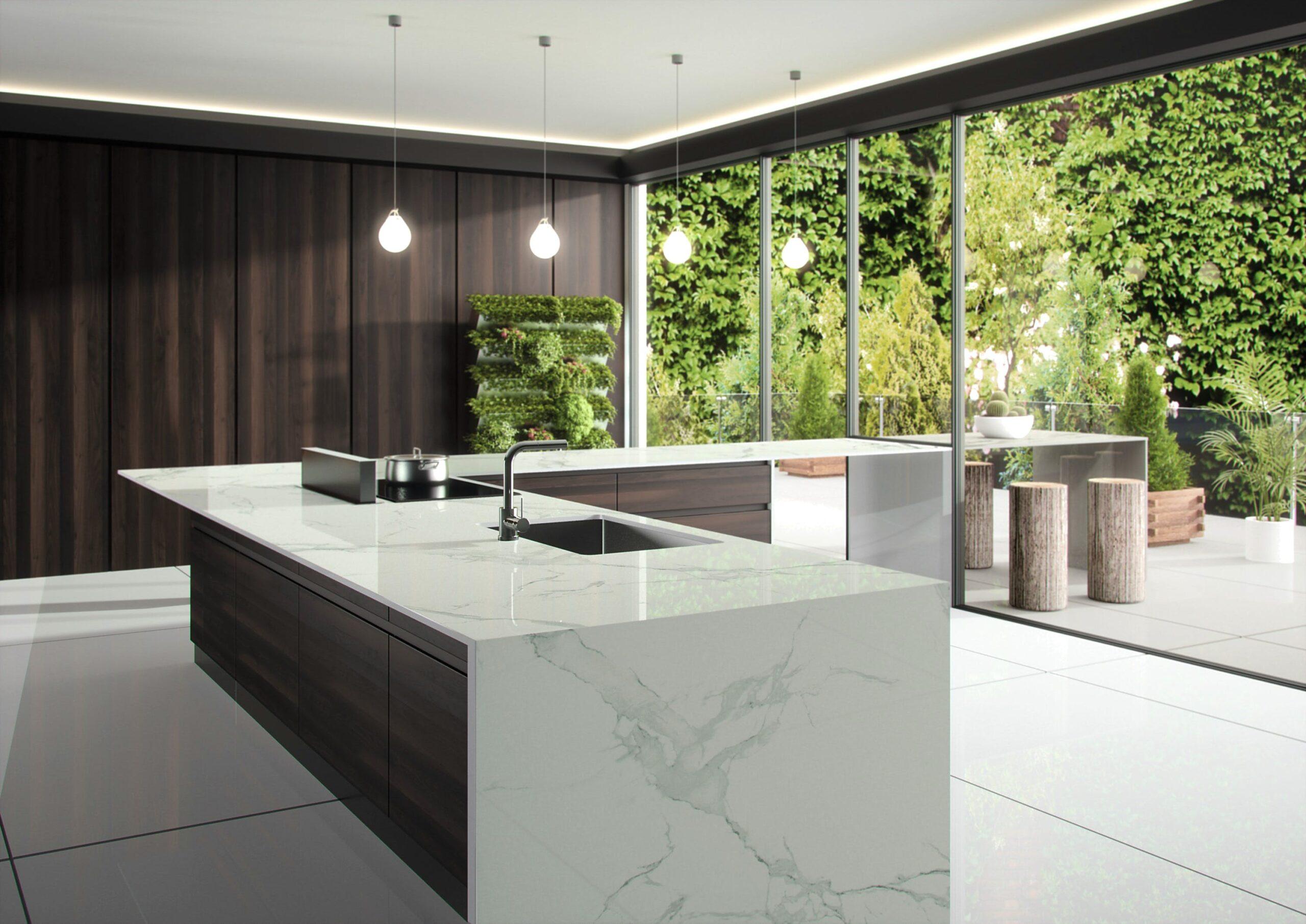 Image of Dekton Natura kitchen countertop LR 6 scaled in Dekton® by Cosentino Introduces Opera and Natura - Cosentino