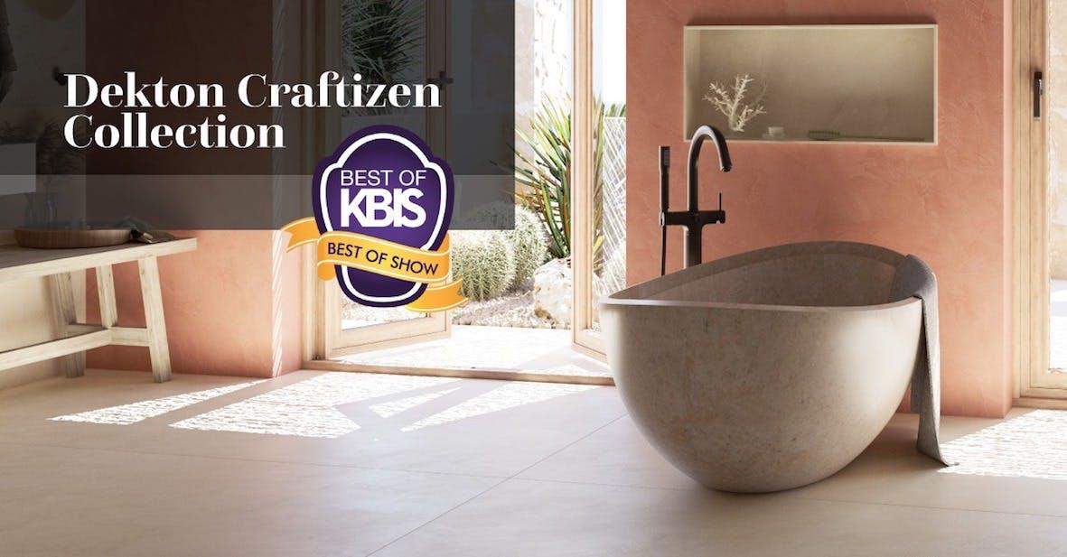 Image of Dekton Cosentino KBIS 2021 10 in US Kitchen and Bathroom Industry recognizes Cosentino innovation - Cosentino