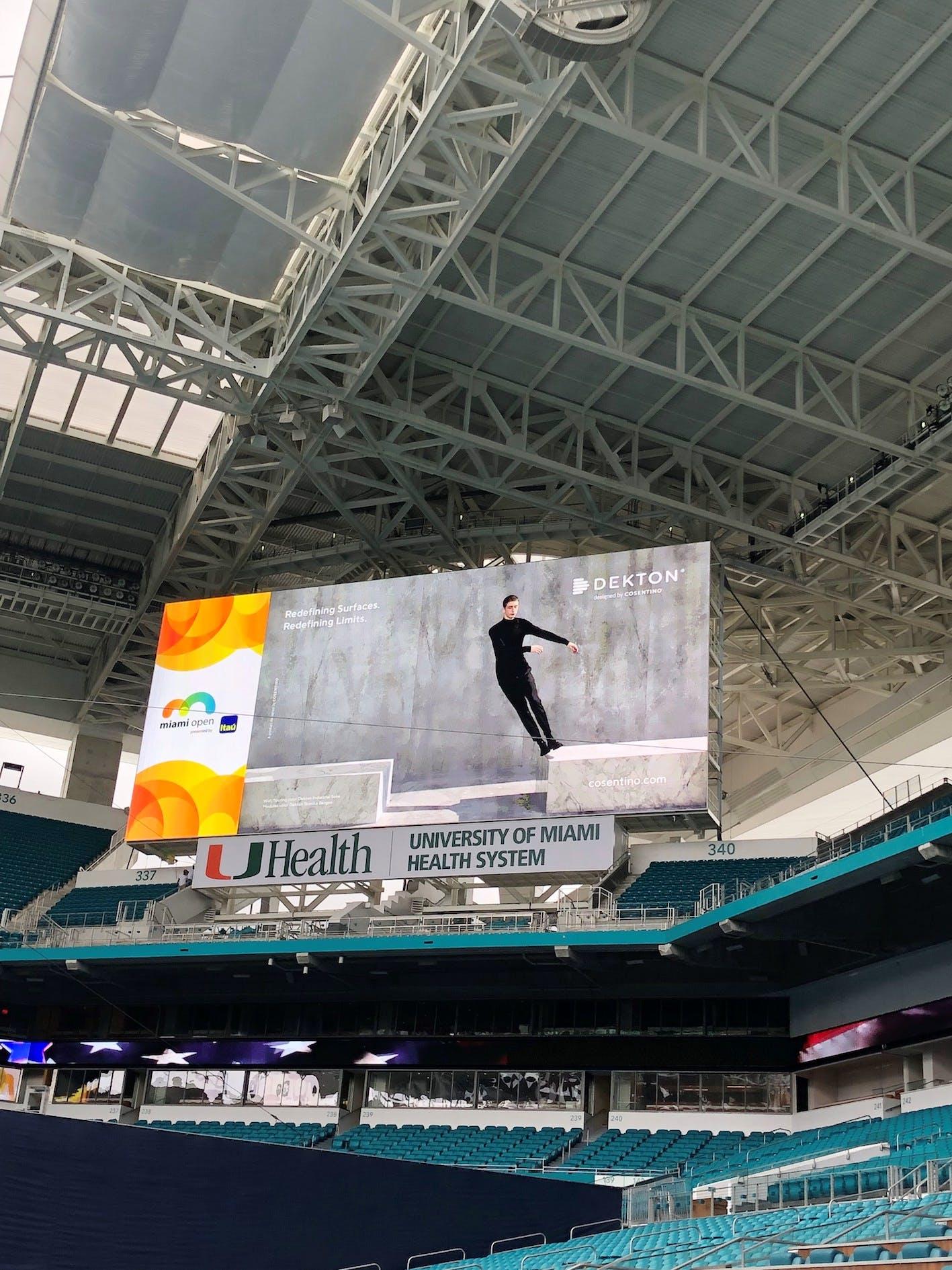 Image of Dekton Sponsor Miami Open 2 in Dekton by Cosentino announces sponsorship of 2019 Miami Open - Cosentino