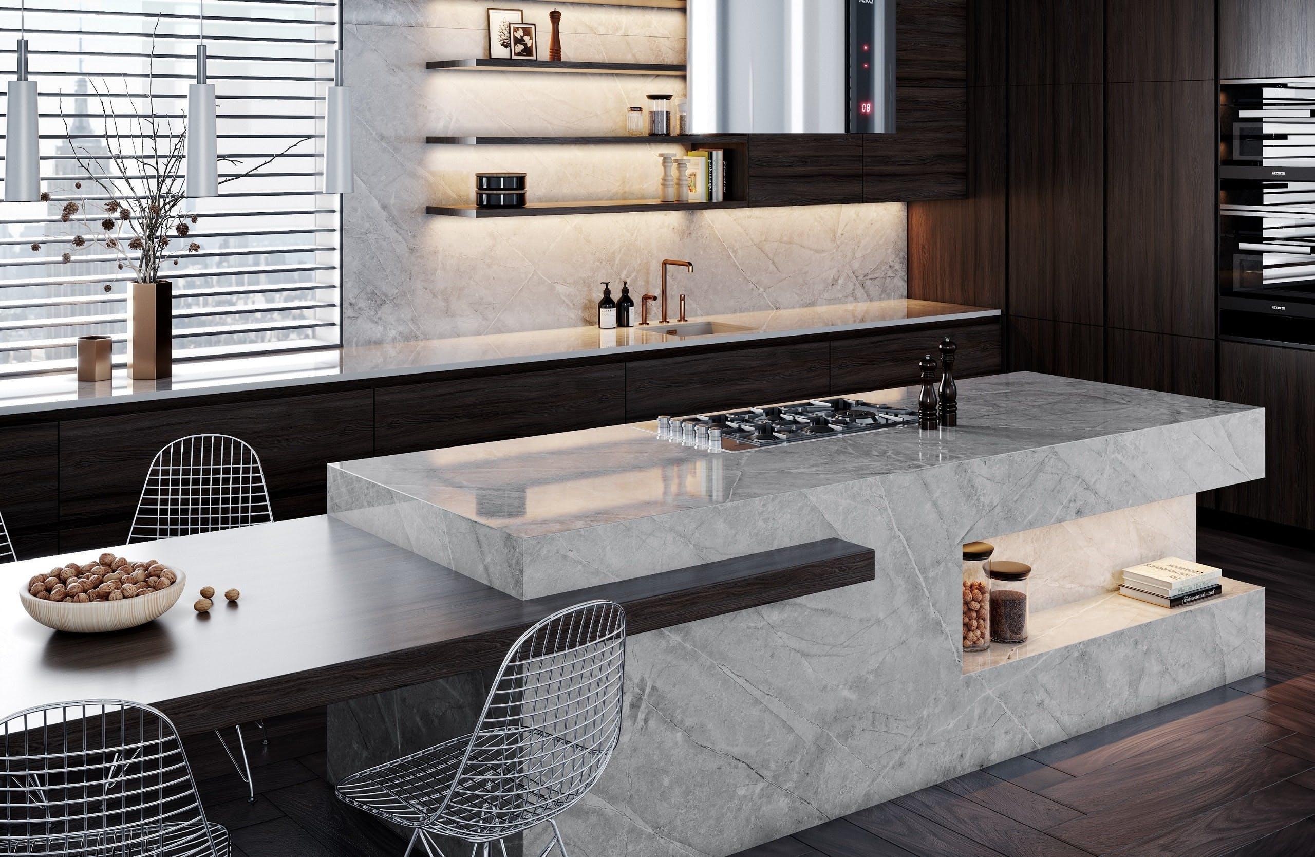 Image of Dekton Stonika Koleksiyonu Sogne 4 2 1 in The Top 7 Kitchen Makeover Trends - Cosentino