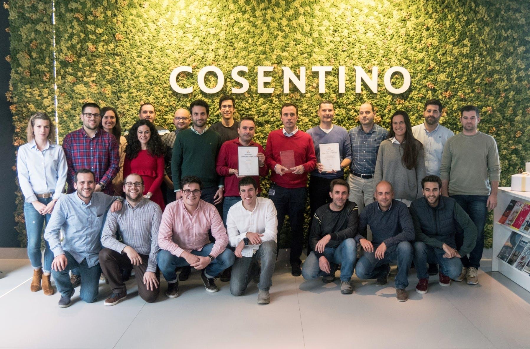 Image of Equipo Area Compras Grupo Cosentino 2 1 in Cosentino Purchasing department honoured twice - Cosentino