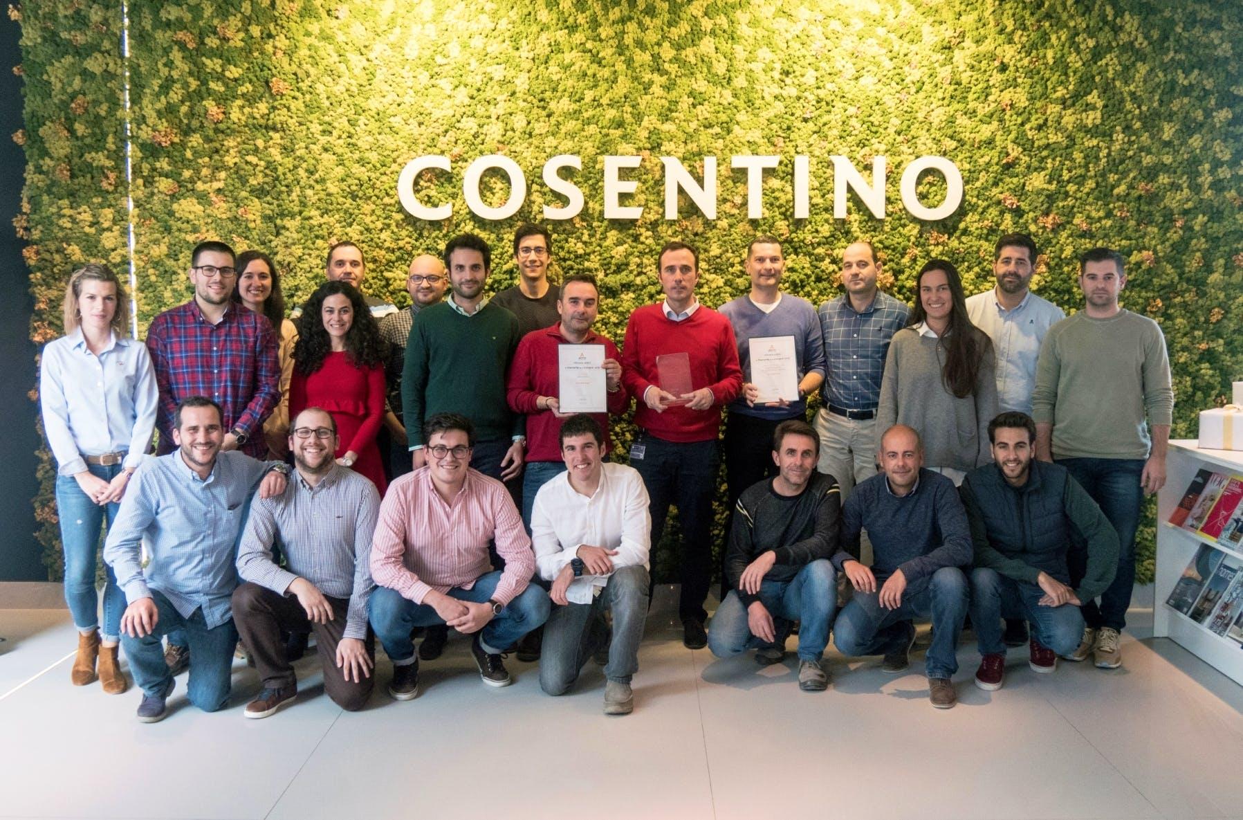Image of Equipo Area Compras Grupo Cosentino 2 2 in Cosentino Purchasing department honoured twice - Cosentino
